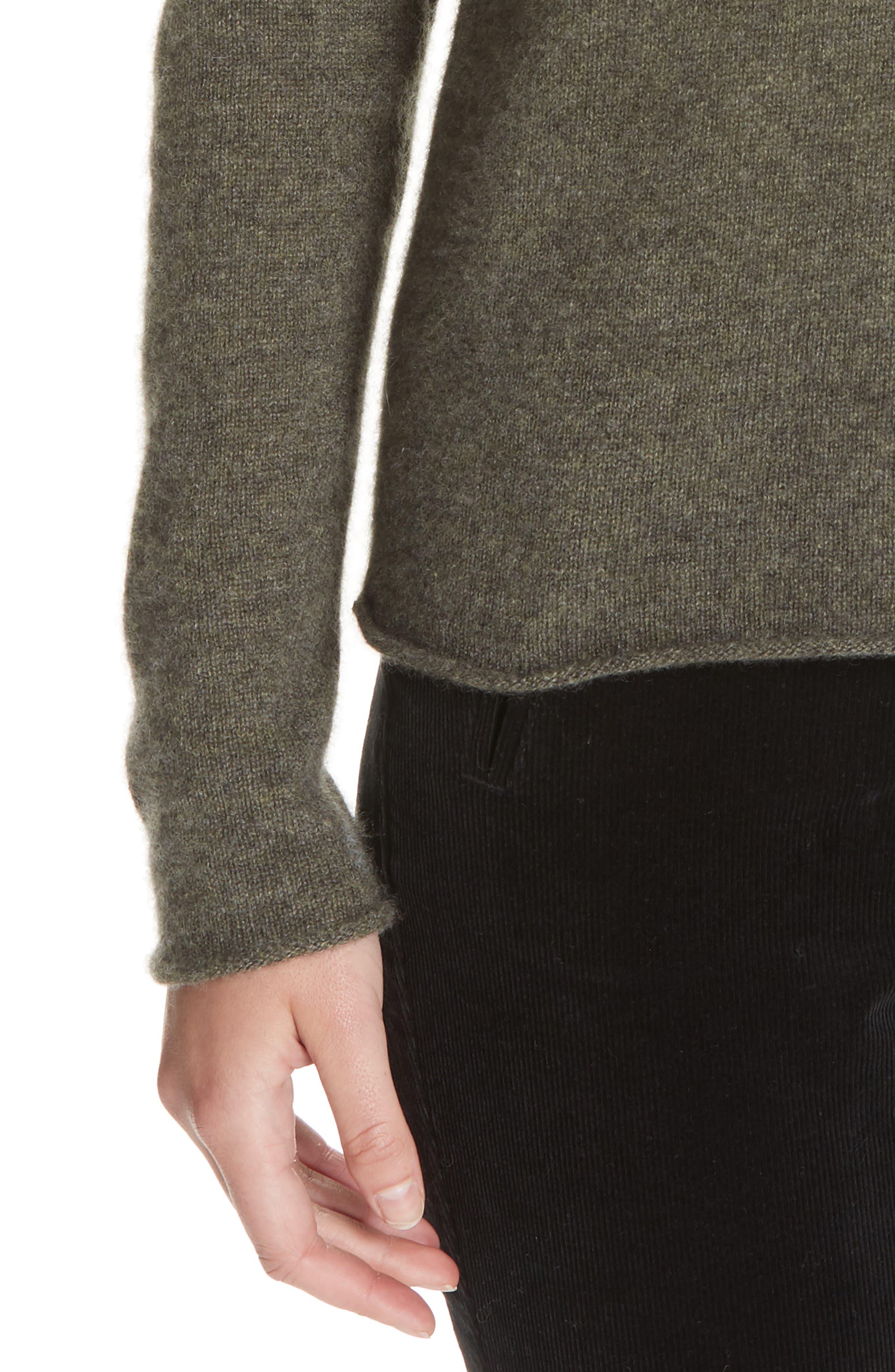 Cashmere V-Neck Sweater,                             Alternate thumbnail 4, color,                             335