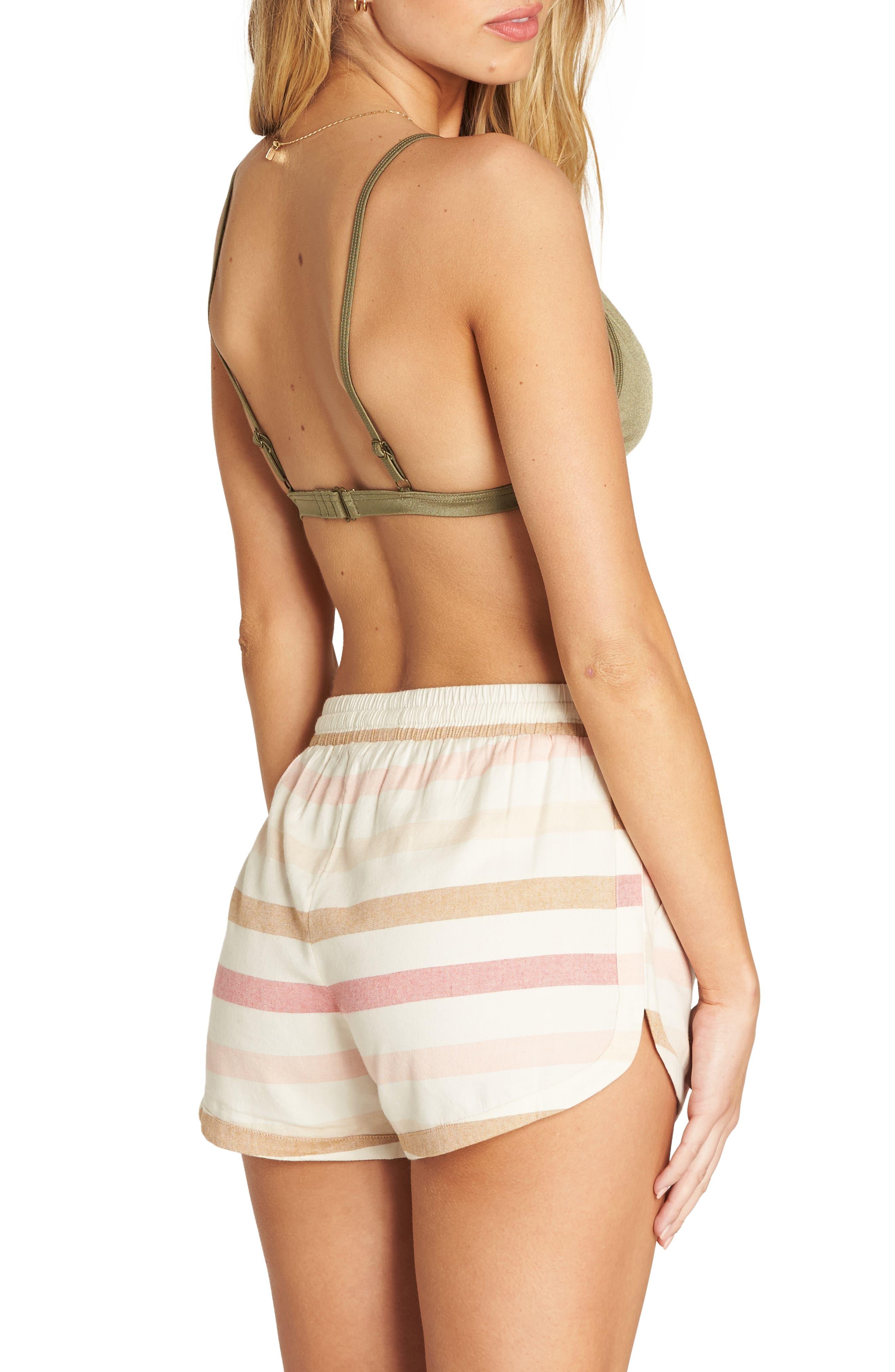 BILLABONG,                             Road Trippin Stripe Shorts,                             Alternate thumbnail 2, color,                             WHITE CAP