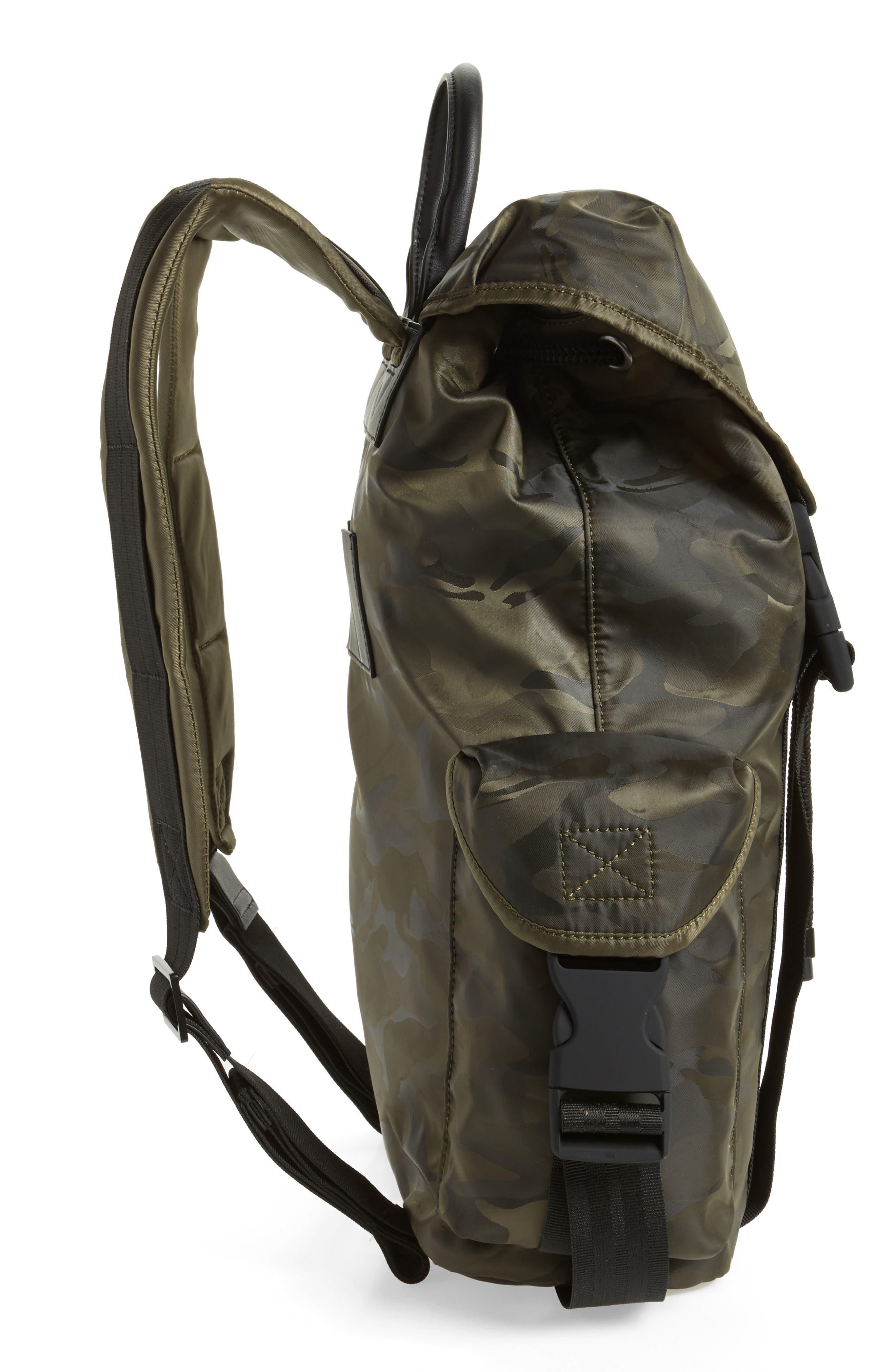Jordyn Nylon Backpack,                             Alternate thumbnail 14, color,