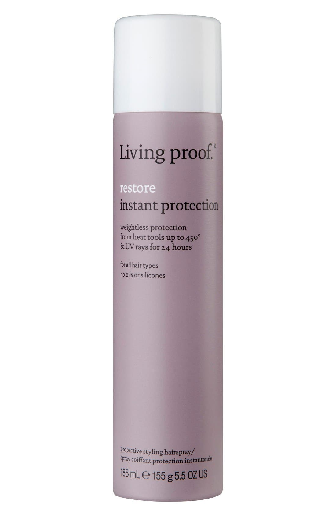 Restore Instant Protection Protective Styling Hairspray,                             Main thumbnail 1, color,                             NO COLOR