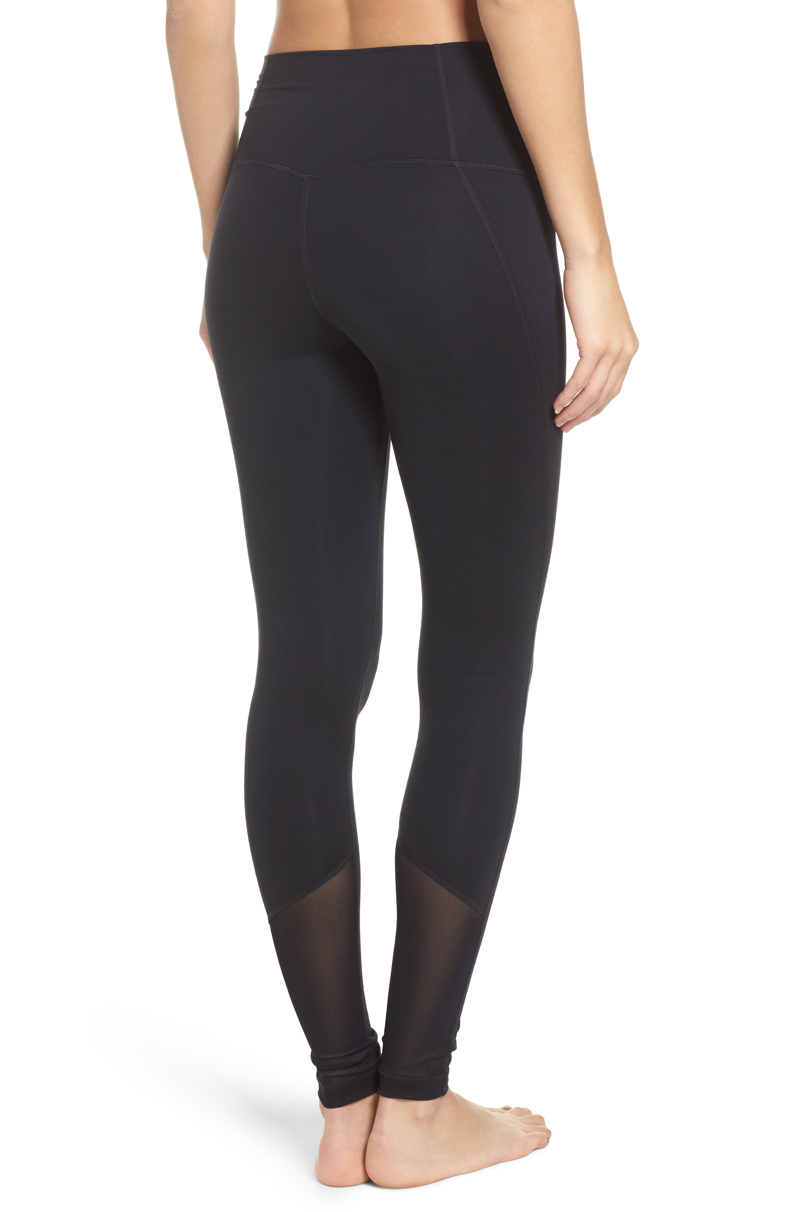High Waist Asana Light Leggings,                             Alternate thumbnail 5, color,
