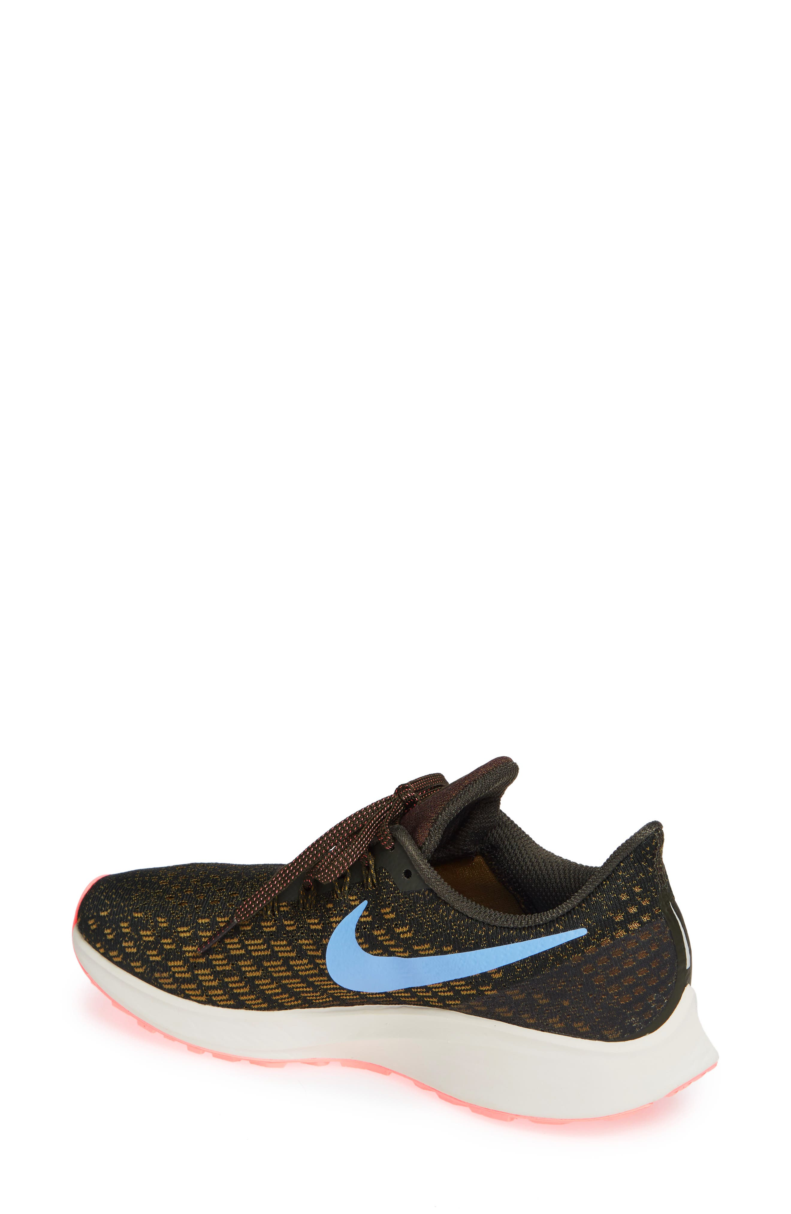 Air Zoom Pegasus 35 Running Shoe,                             Alternate thumbnail 2, color,                             SEQUOIA/ ROYAL PULSE-OLIVE