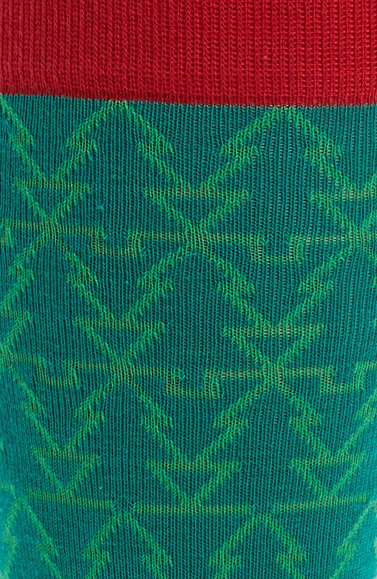 Holiday Mosaic Tree Socks,                             Alternate thumbnail 2, color,                             310