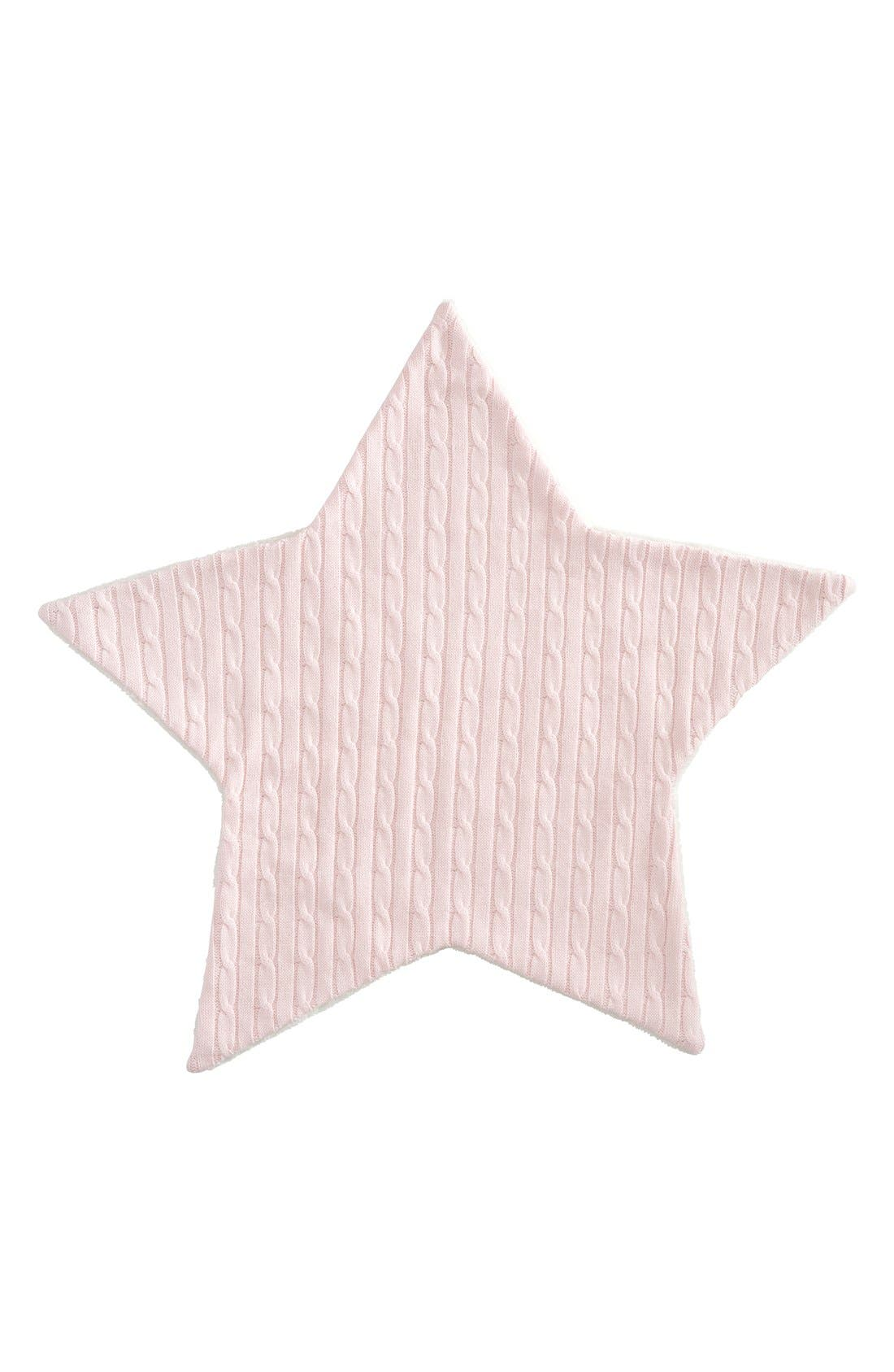 Cable Knit Star Blanket,                             Main thumbnail 3, color,