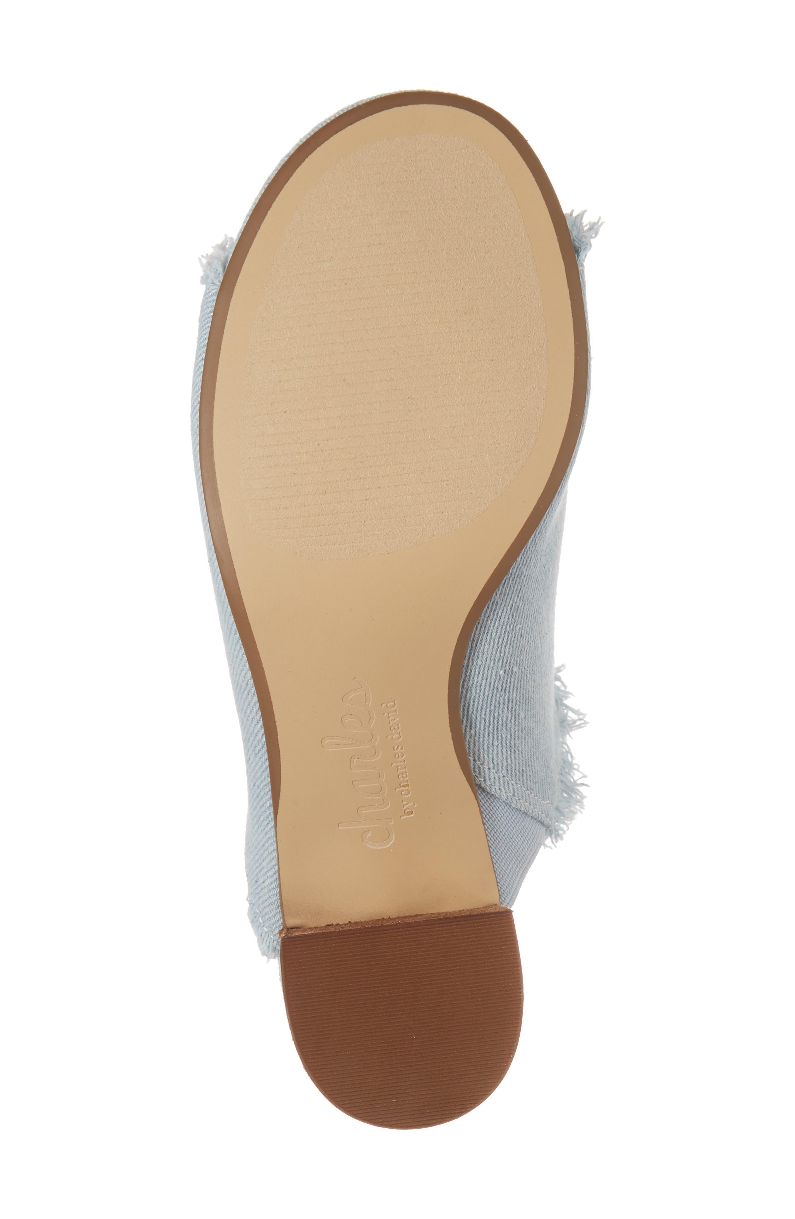 Kadia Fringed Mule Sandal,                             Alternate thumbnail 18, color,