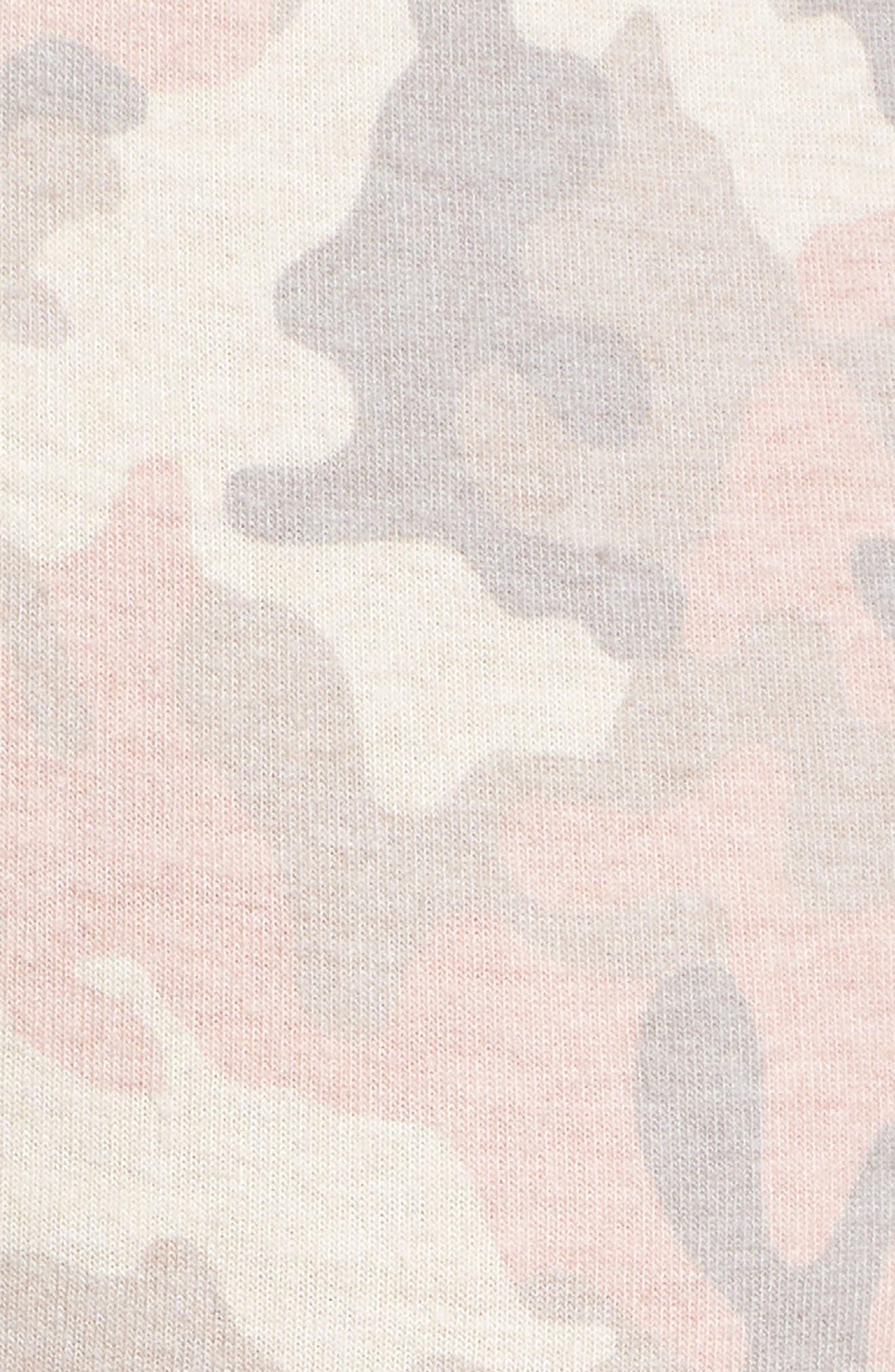 Love is a Battle Camo Pajama Pants,                             Alternate thumbnail 5, color,                             900