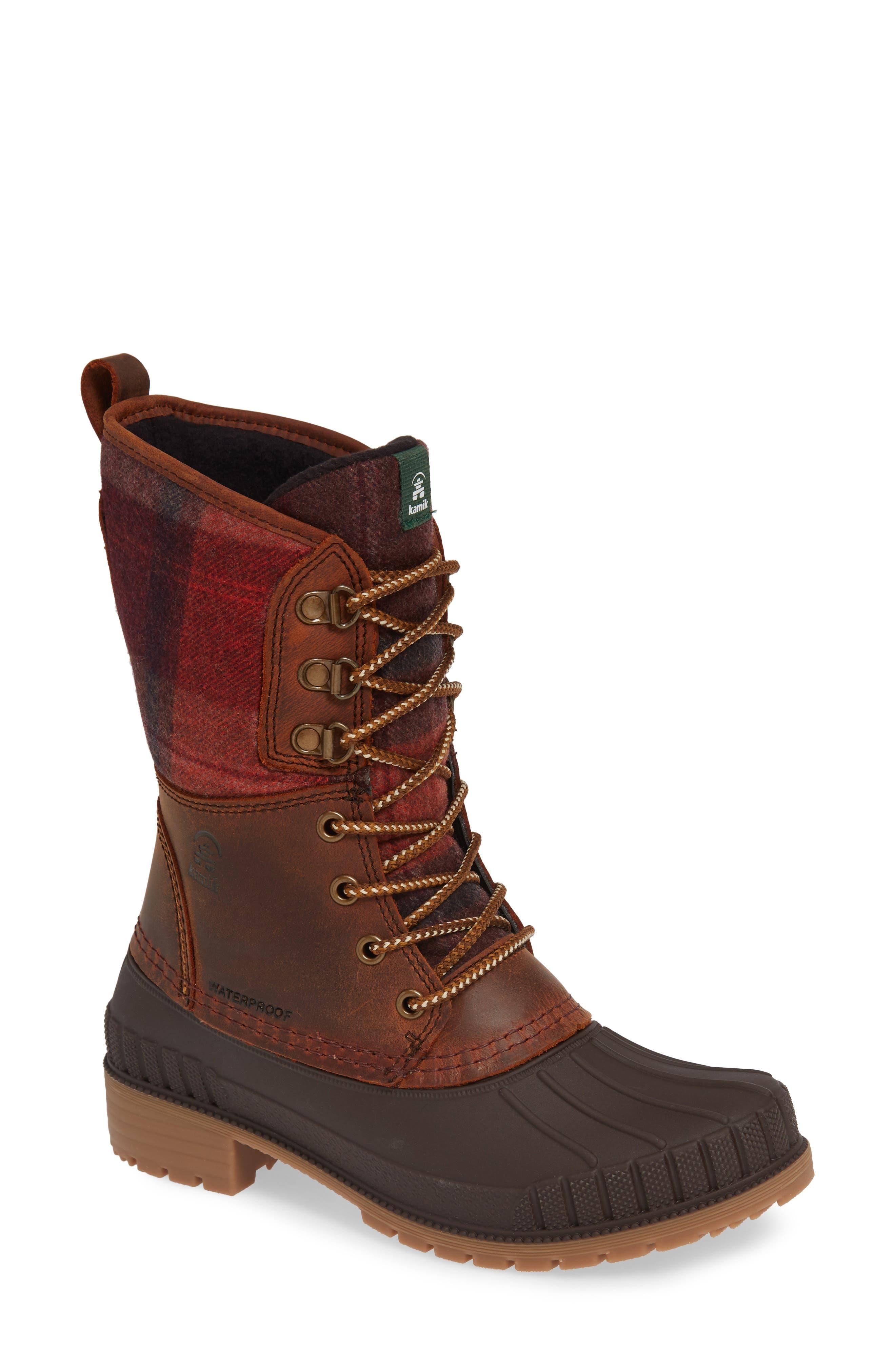 Kamik Sienna 2 Duck Waterproof Boot, Brown