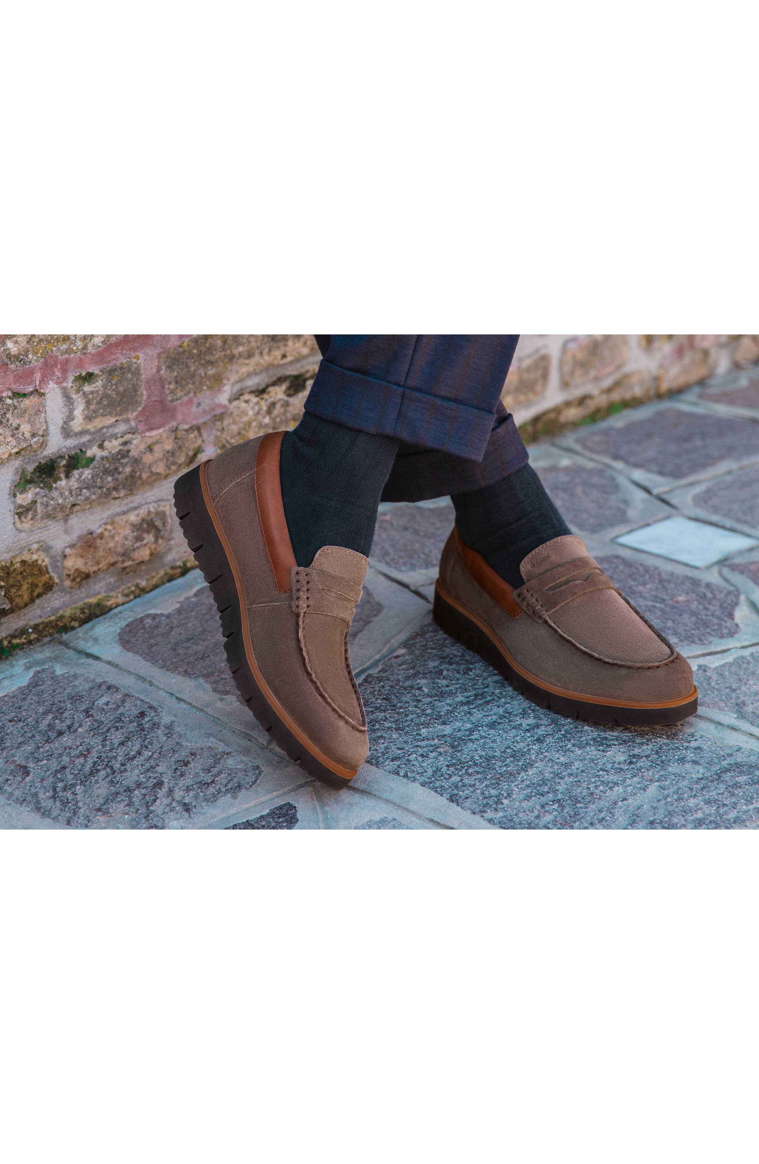New Pluges 6 Penny Loafer,                             Alternate thumbnail 8, color,                             002