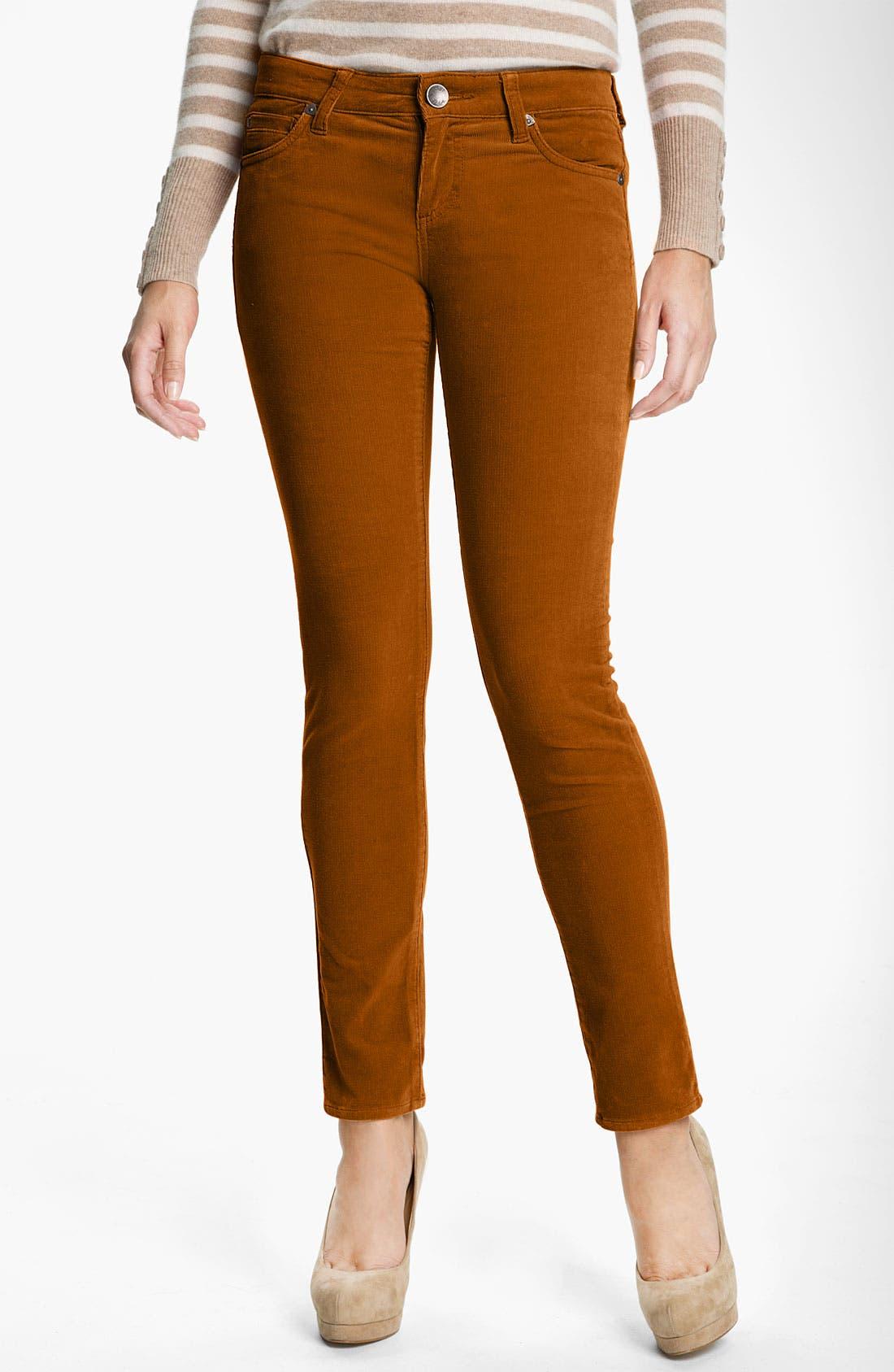 'Diana' Stretch Corduroy Skinny Pants,                             Main thumbnail 8, color,