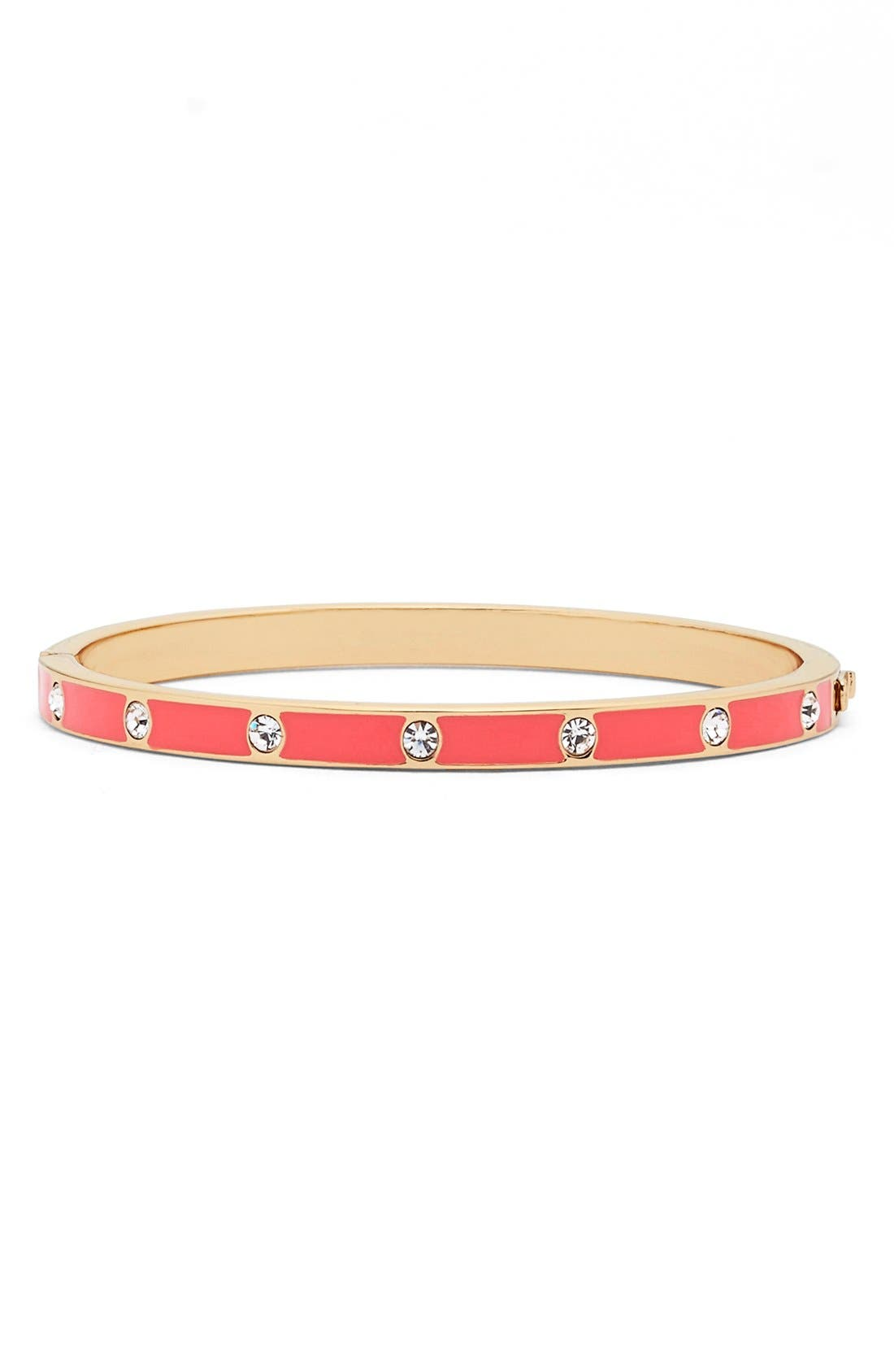 crystal & enamel hinge bangle,                             Main thumbnail 14, color,