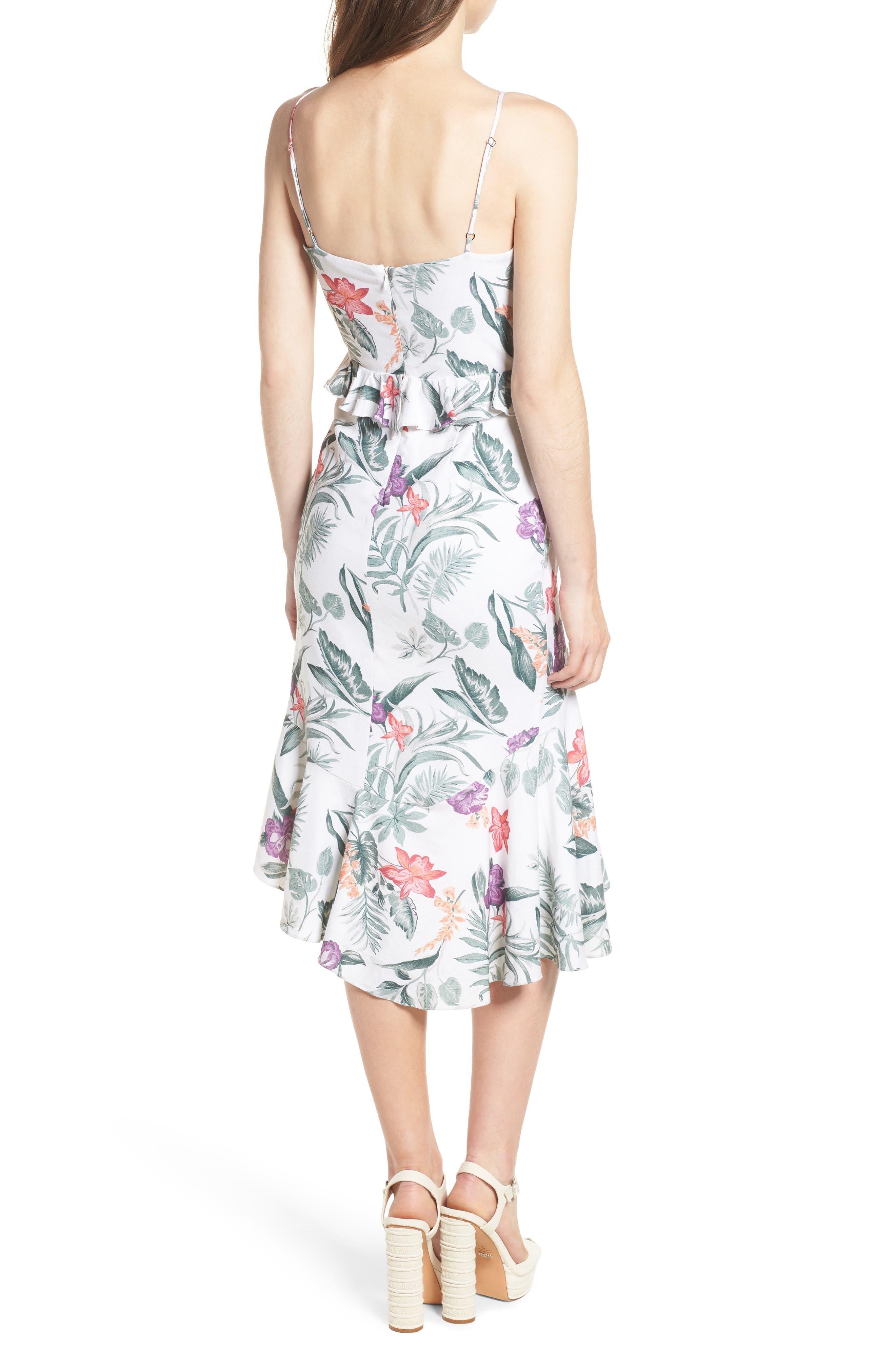 Mahari Cutout Midi Dress,                             Alternate thumbnail 2, color,                             900