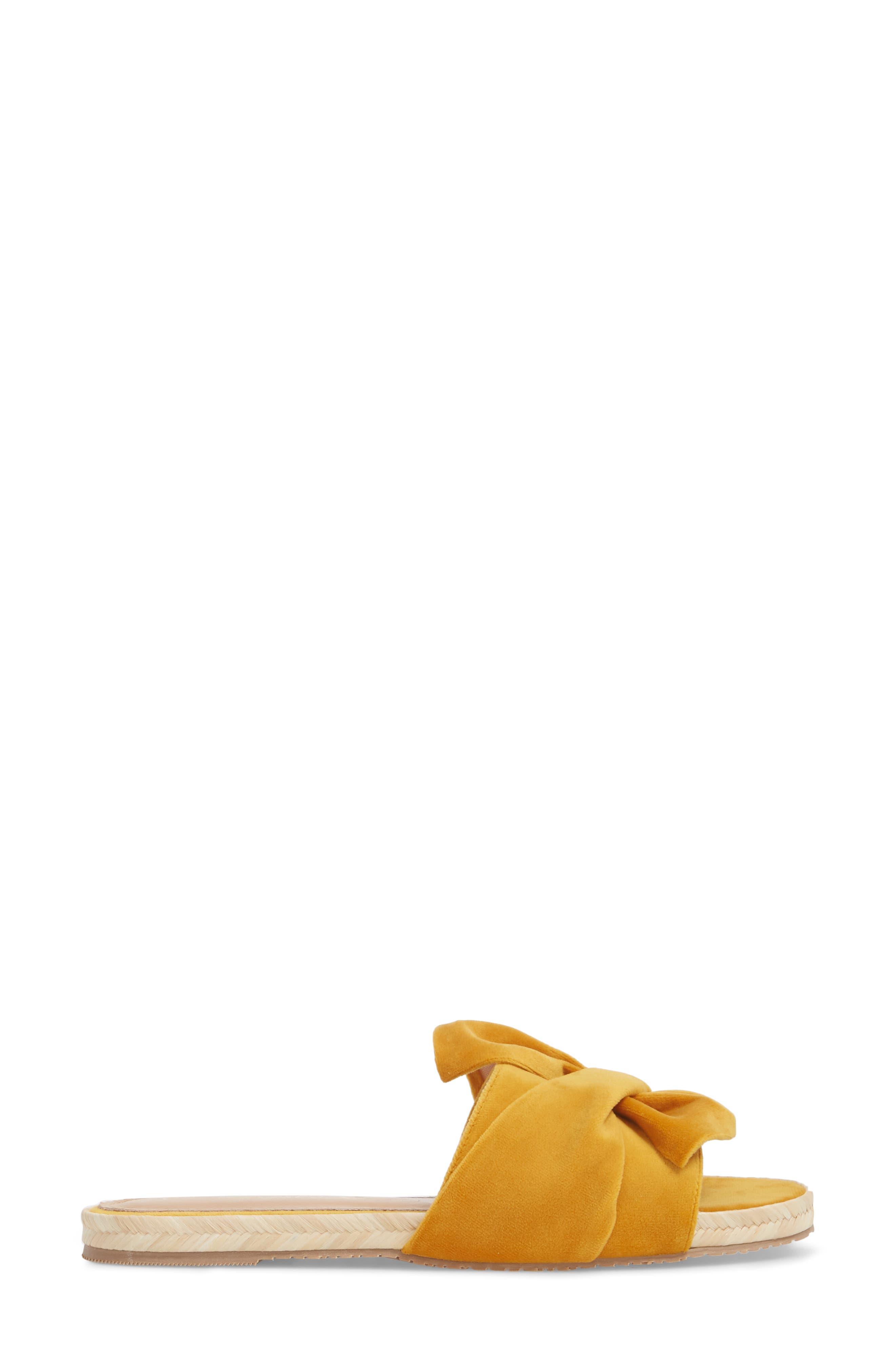 Sausalito Knotted Slide Sandal,                             Alternate thumbnail 6, color,