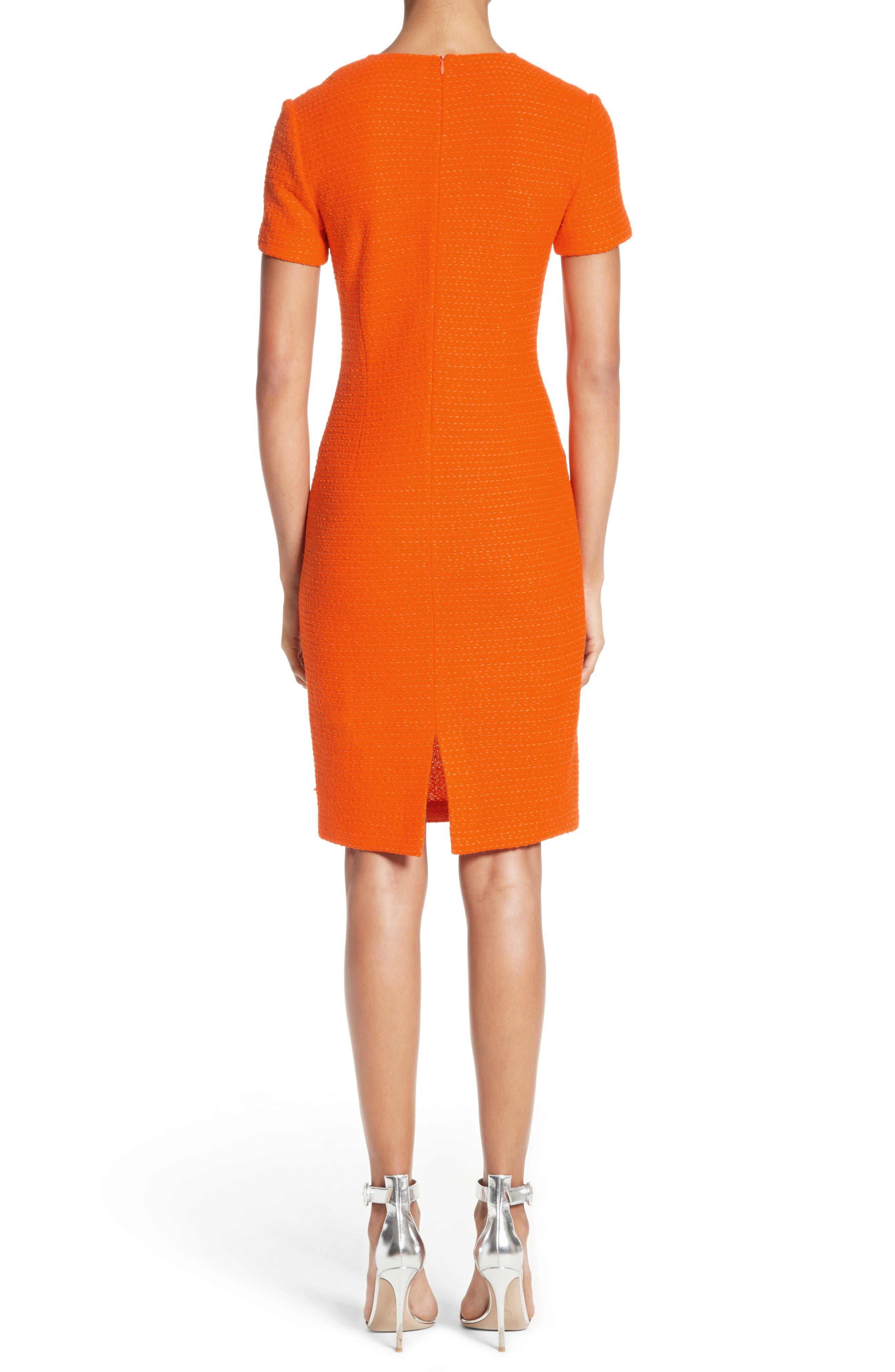 Ribbon Texture Knit Dress,                             Alternate thumbnail 2, color,                             820