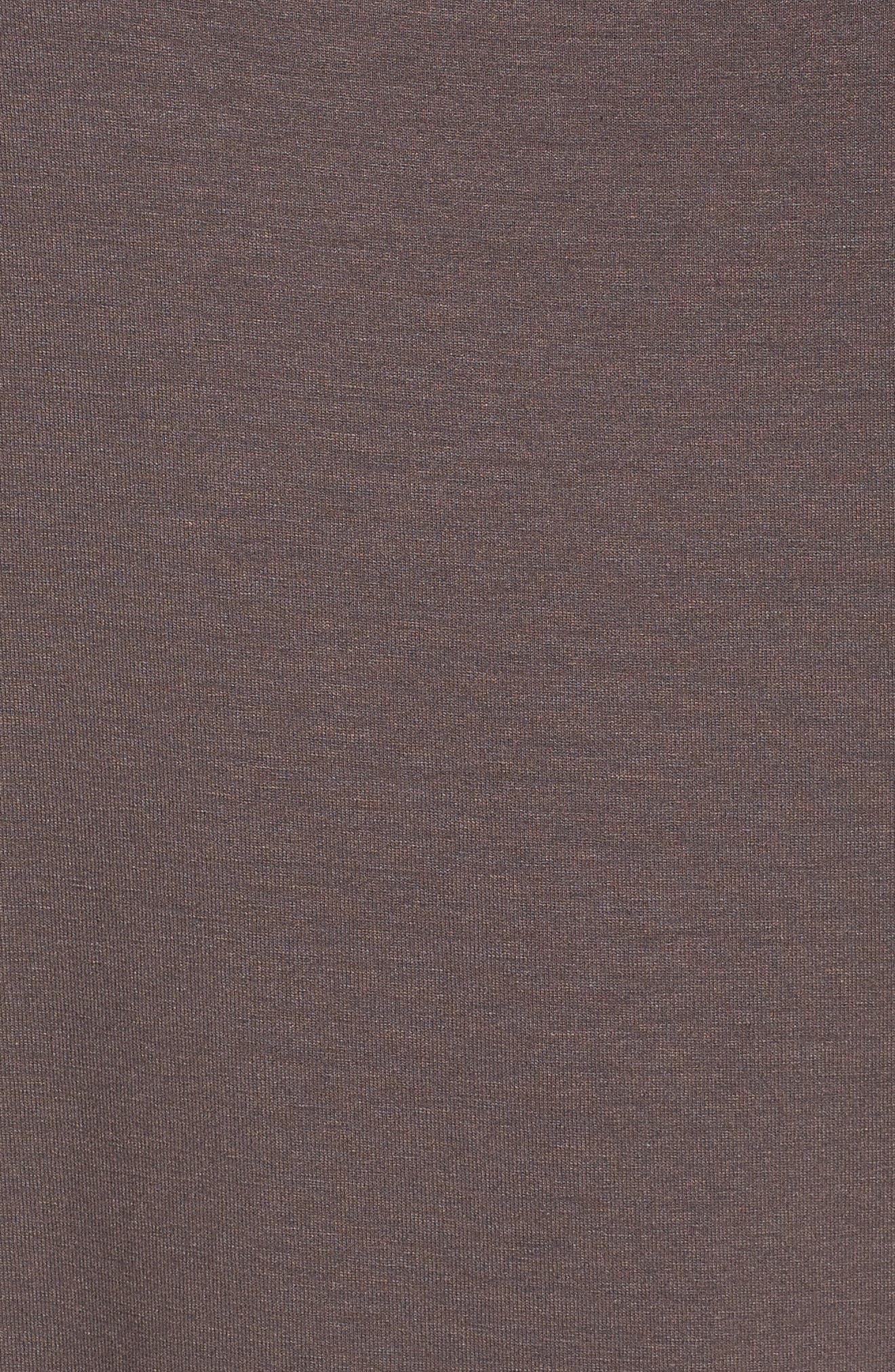 Asymmetrical Jersey Shift Dress,                             Alternate thumbnail 18, color,