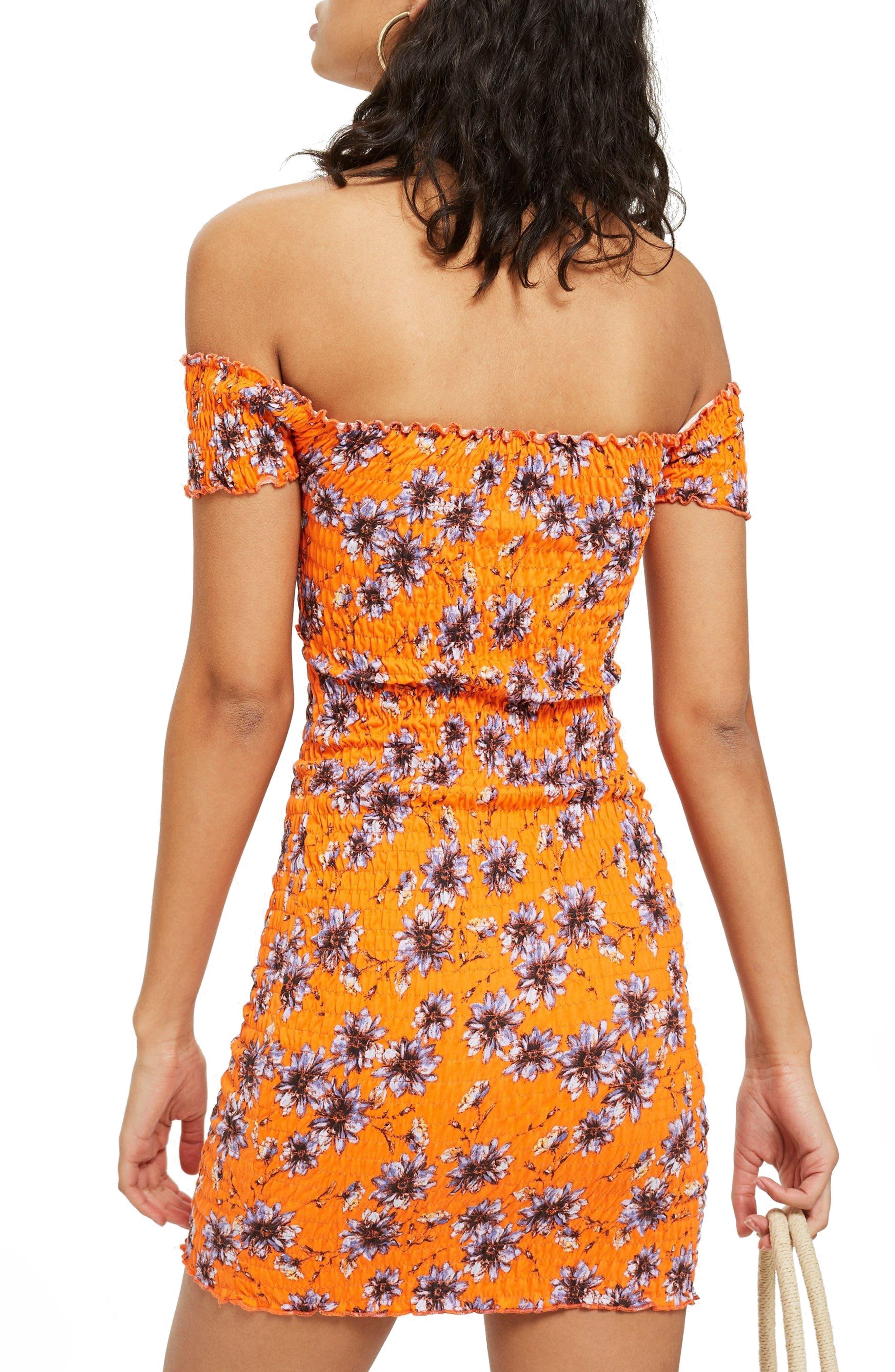 Off the Shoulder Body-Con Dress,                             Alternate thumbnail 2, color,
