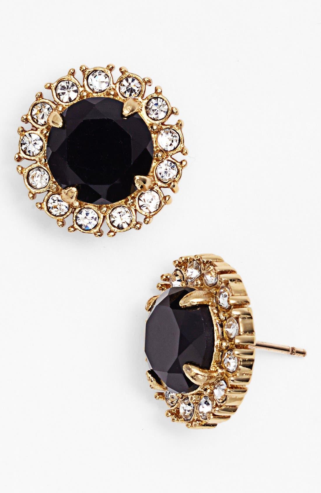 'secret garden' mixed stone stud earrings,                             Main thumbnail 1, color,                             001