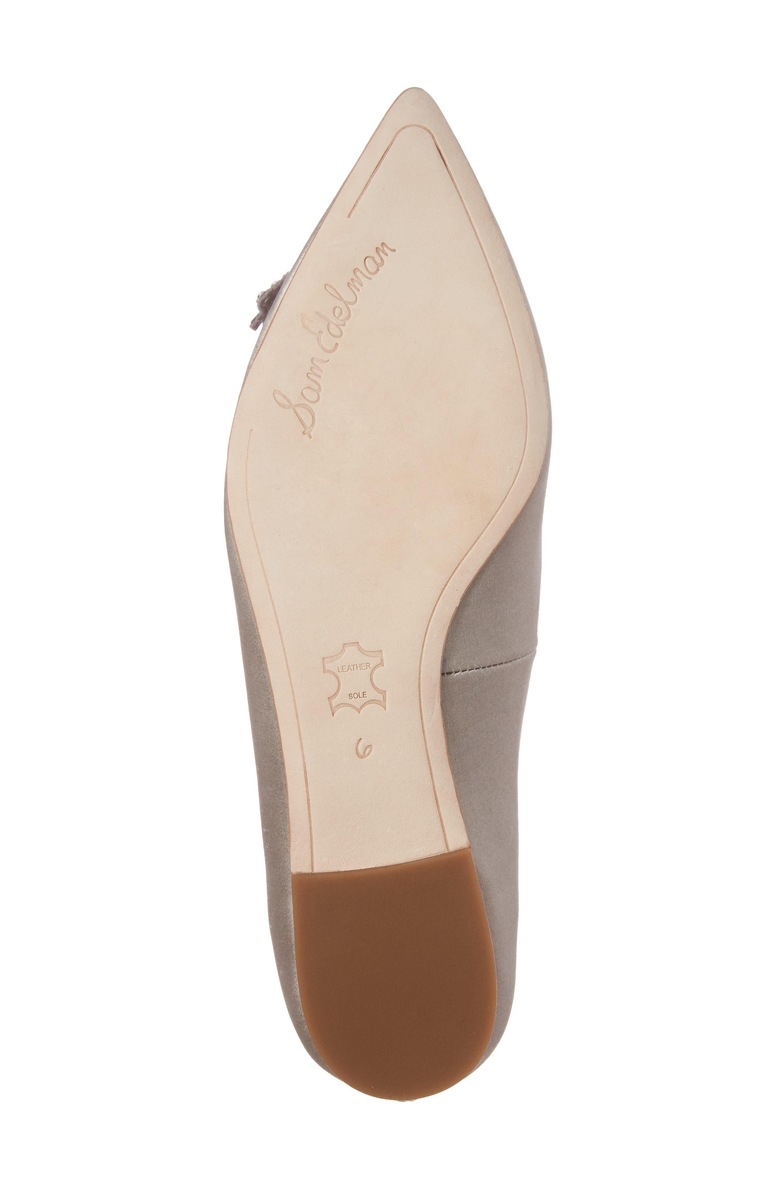 Rafaella Pointy Toe Ballet Flat,                             Alternate thumbnail 6, color,                             020