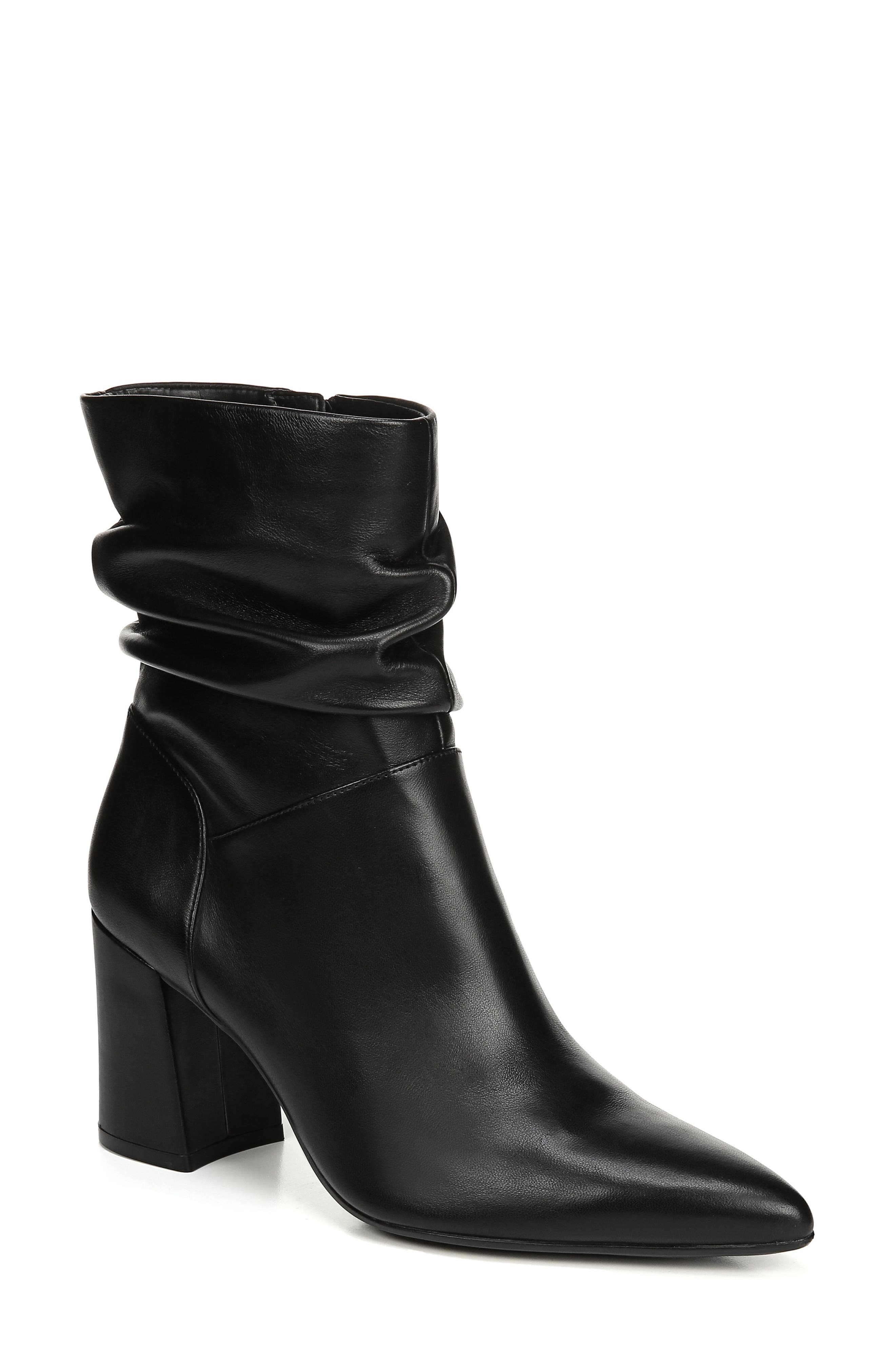 Naturalizer Hollace Slouchy Bootie, Black