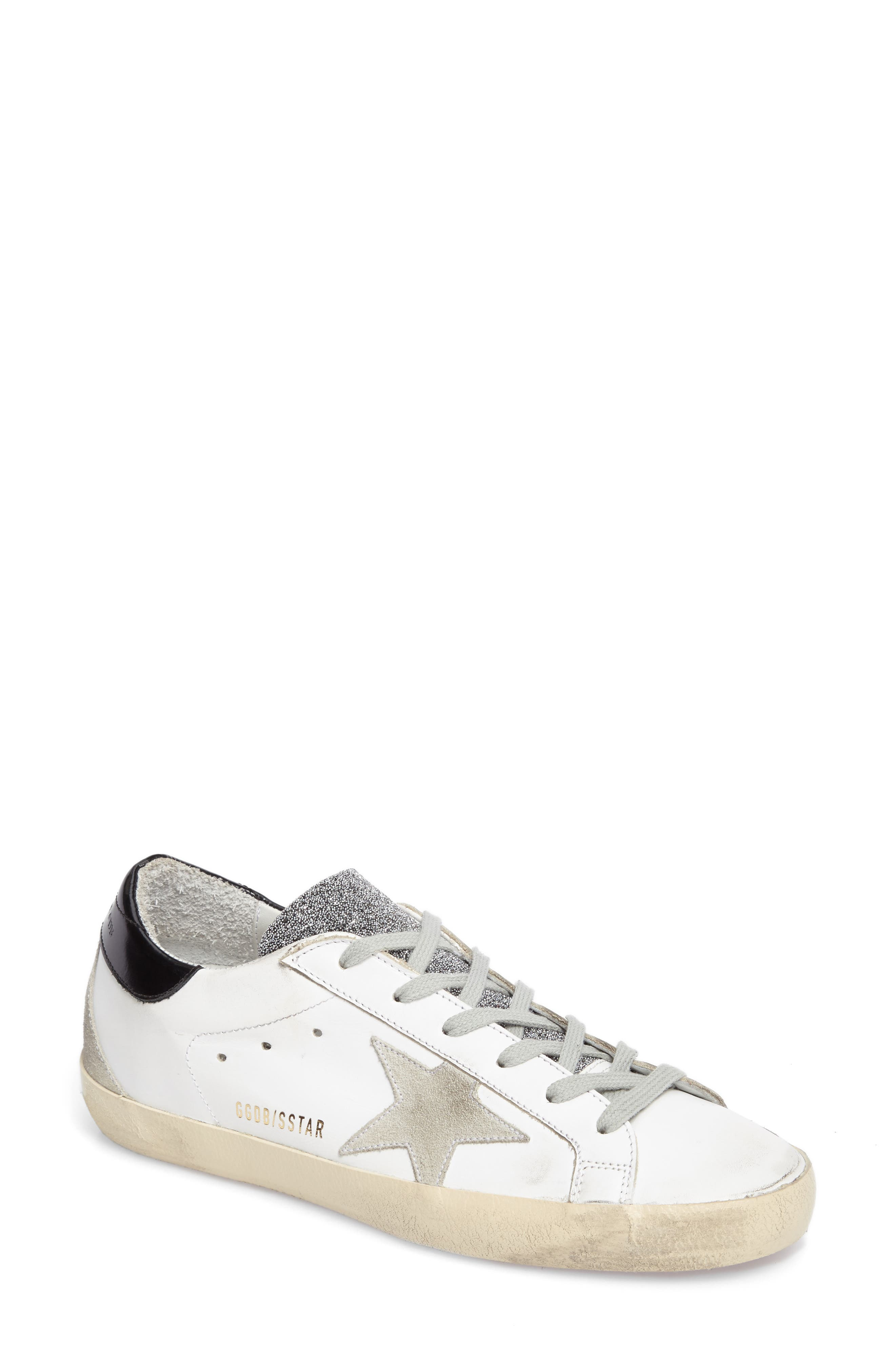 Superstar Low Top Sneaker,                             Main thumbnail 1, color,                             100