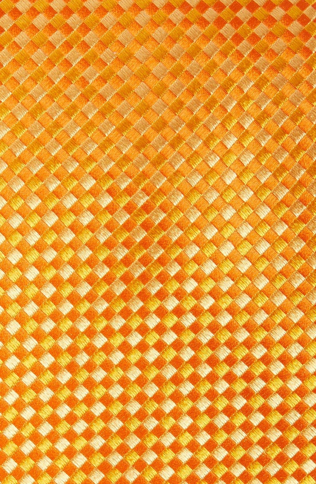 Check Silk Tie,                             Alternate thumbnail 24, color,