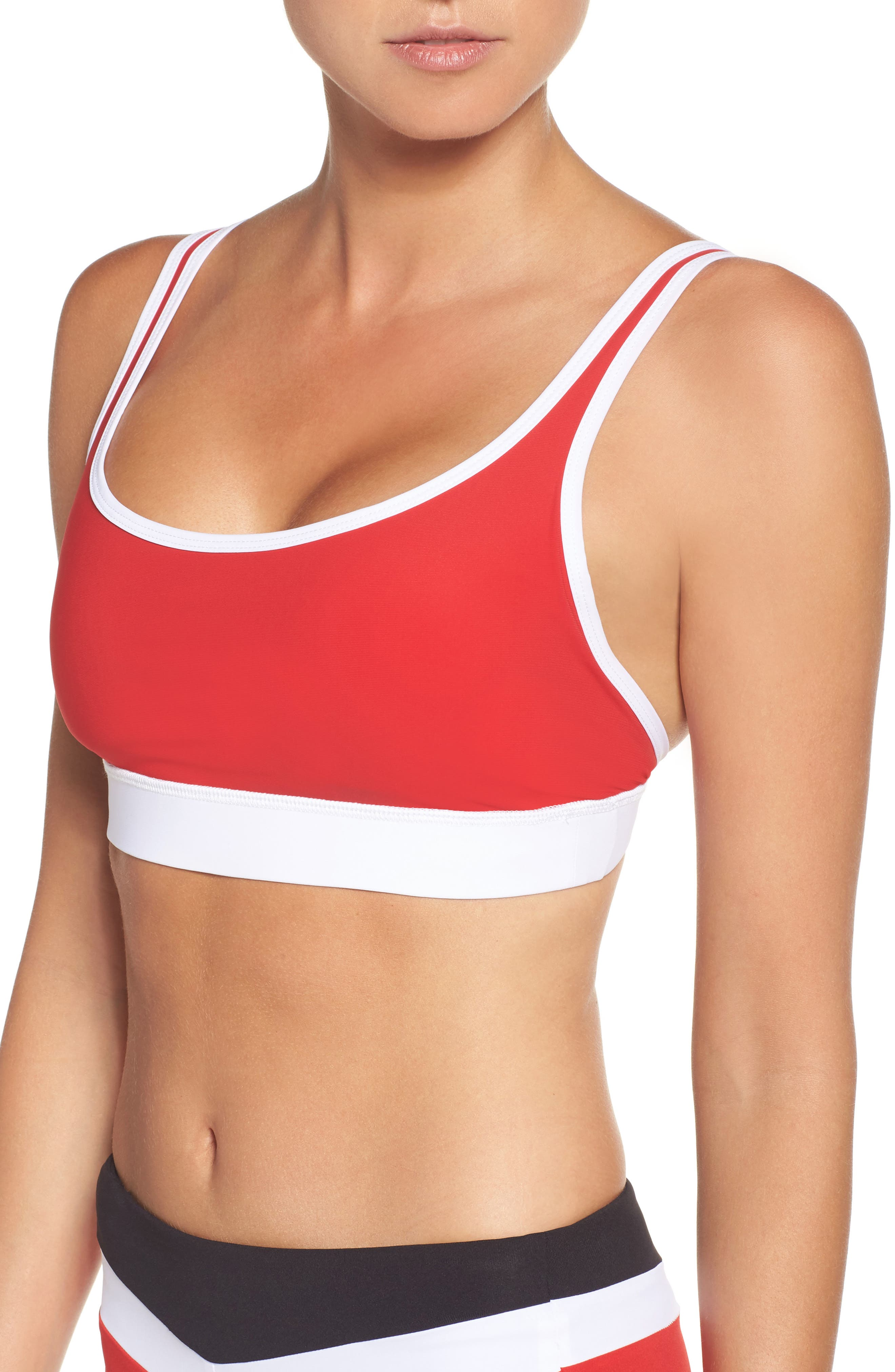 BoomBoom Athletica 2-in-1 Tank,                             Alternate thumbnail 2, color,                             001