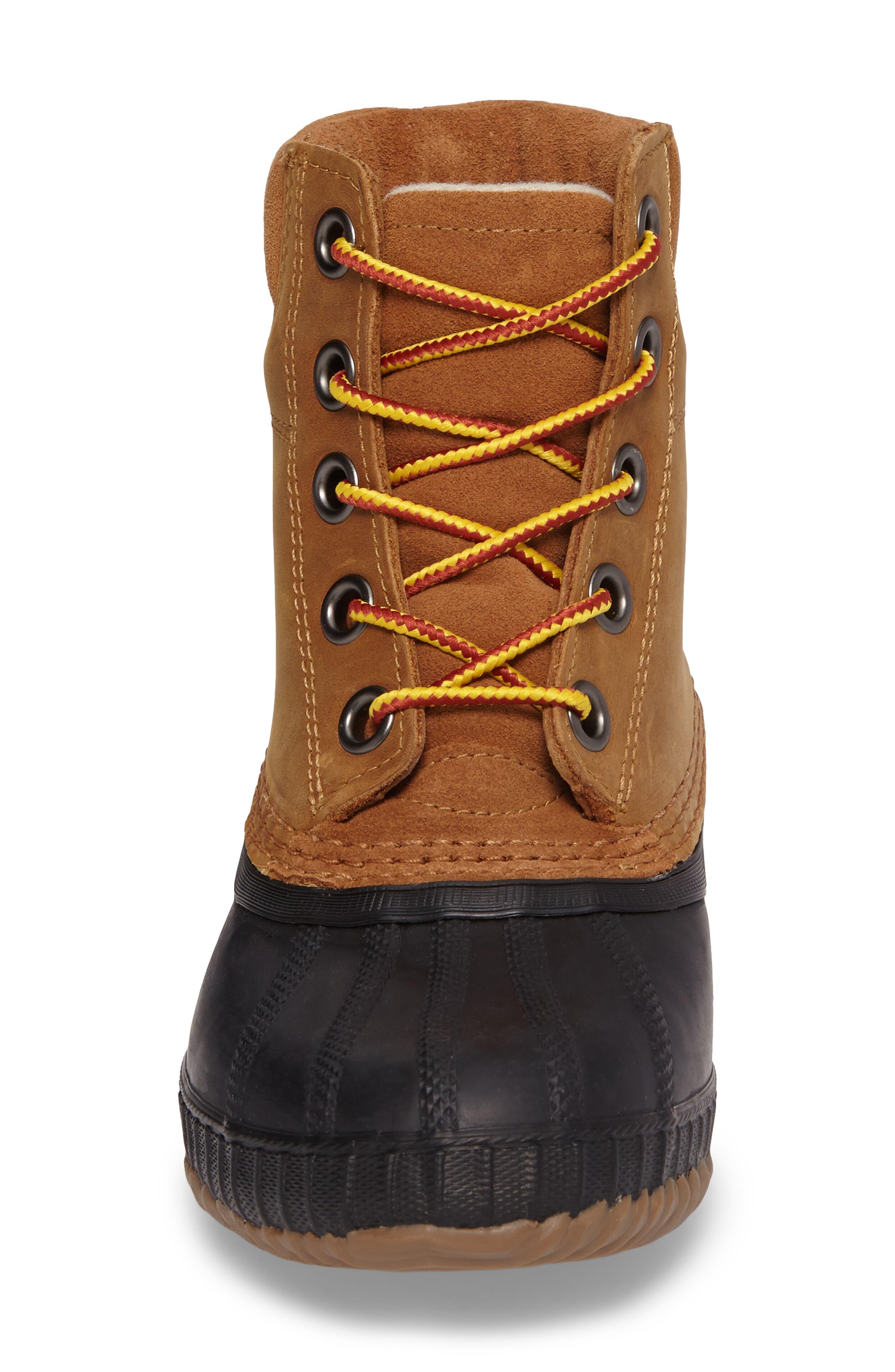 Cheyanne<sup>™</sup> II Waterproof Boot,                             Alternate thumbnail 4, color,                             ELK BLACK