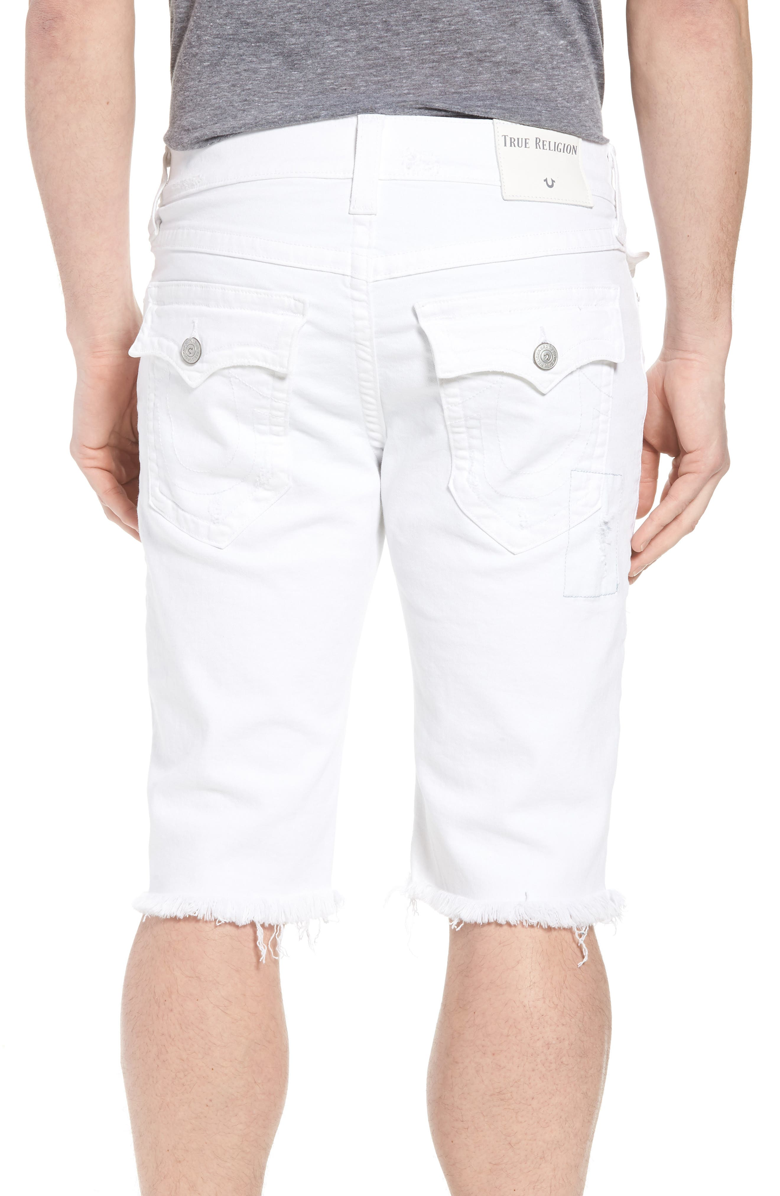 Ricky Relaxed Fit Denim Shorts,                             Alternate thumbnail 2, color,                             401