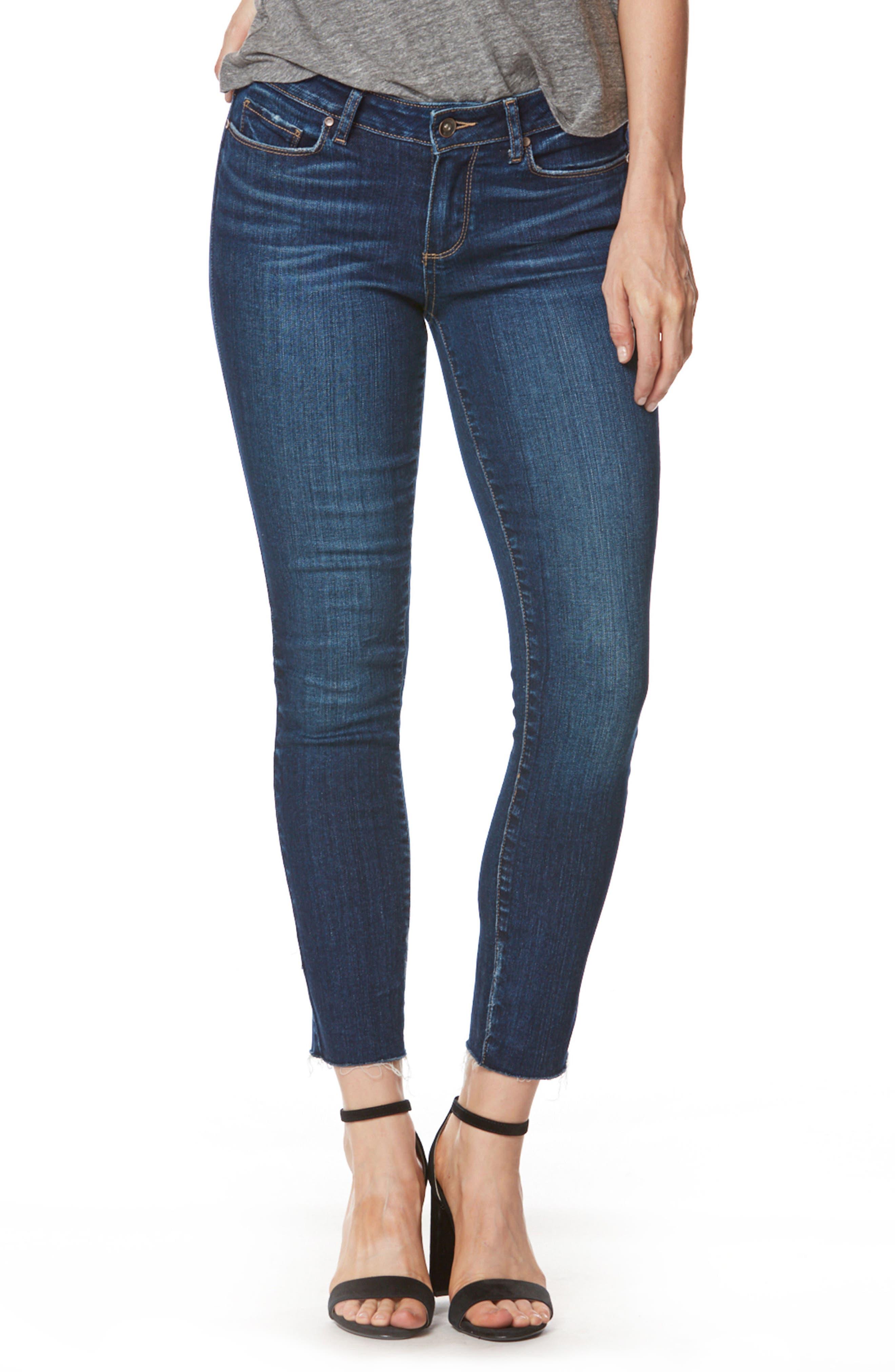 Skyline Ankle Skinny Jeans,                         Main,                         color, 400
