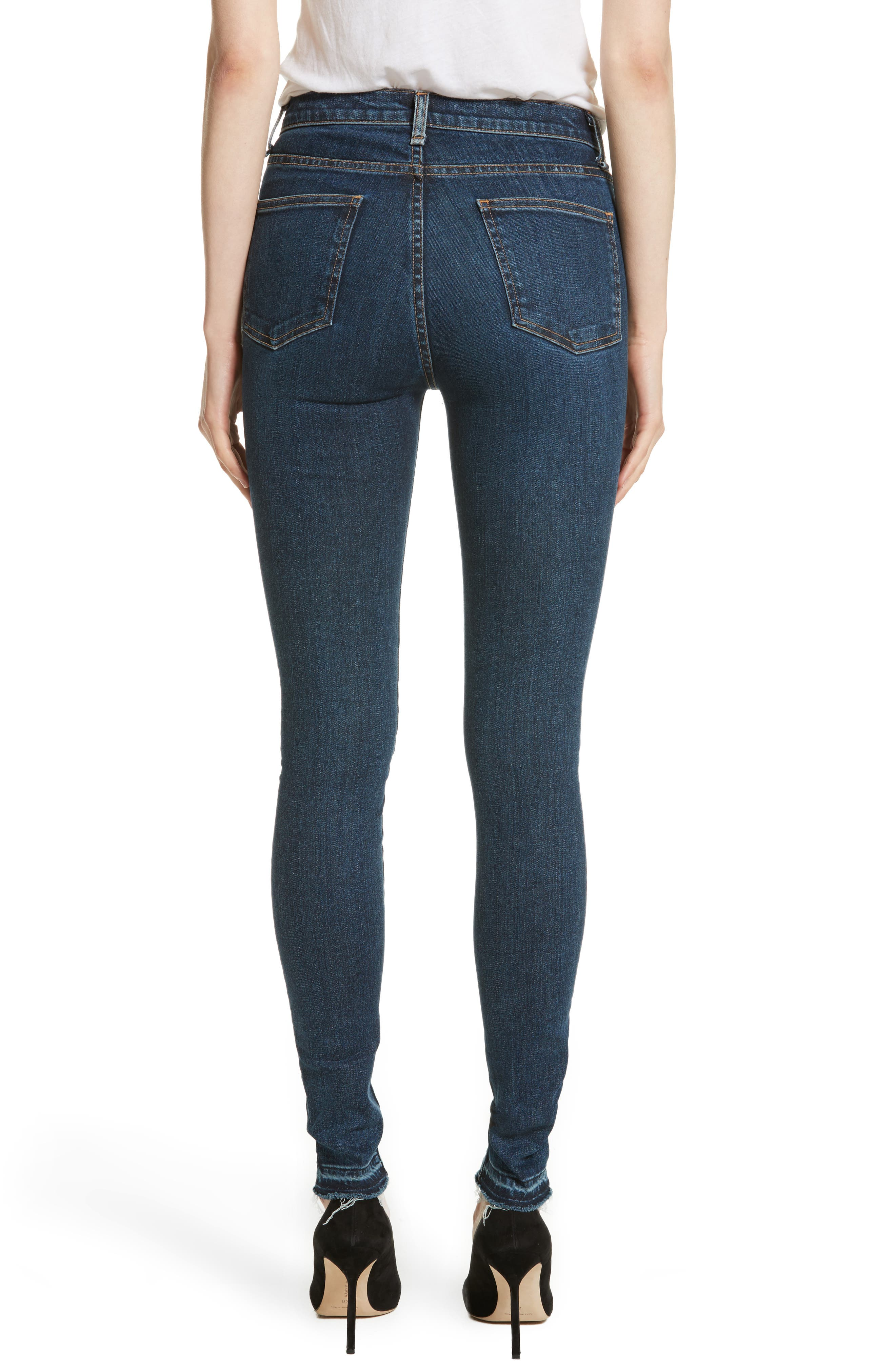 Kate Patch Skinny Jeans,                             Alternate thumbnail 2, color,                             440
