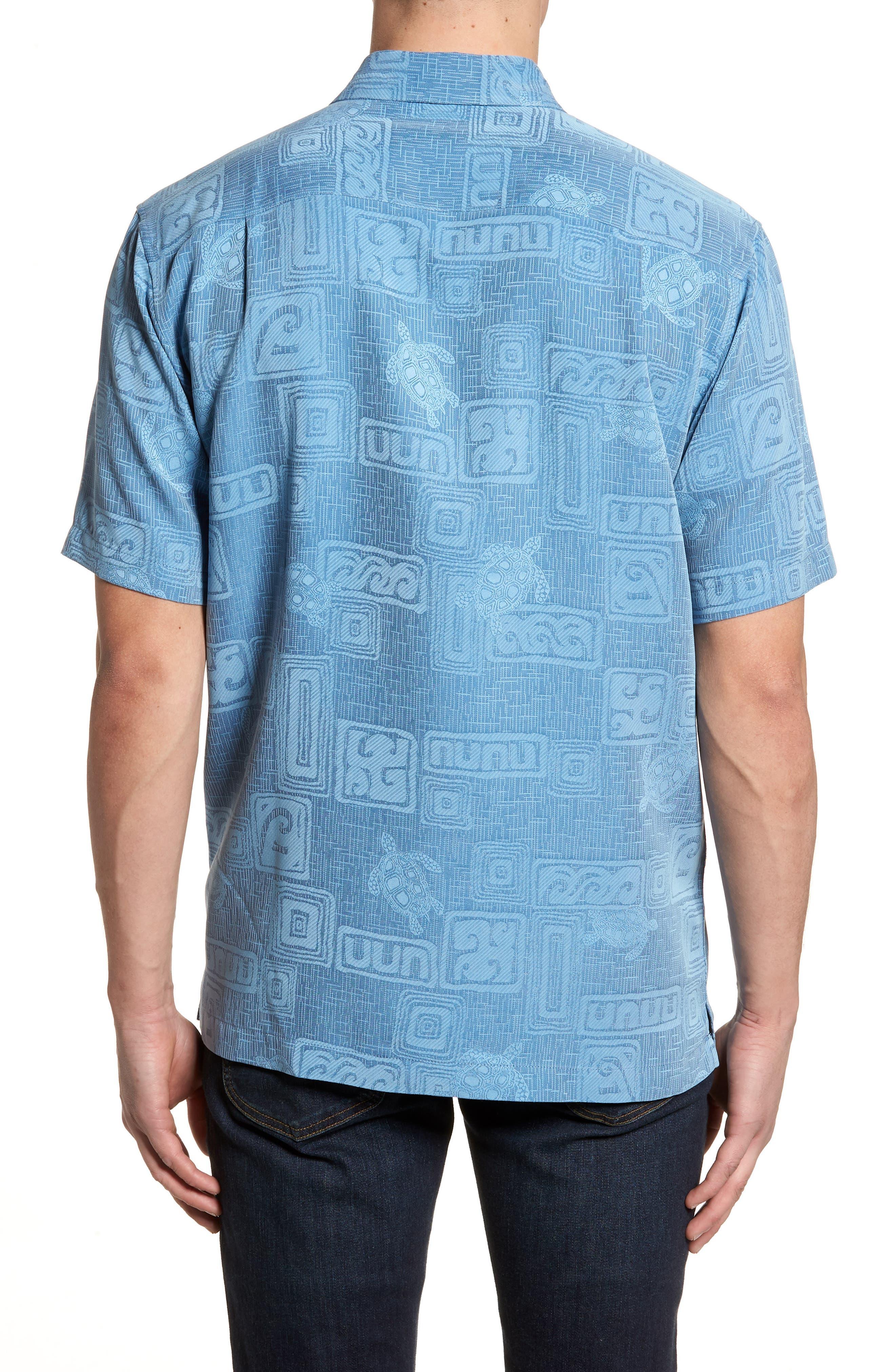 Sea Shells Classic Fit Sport Shirt,                             Alternate thumbnail 6, color,