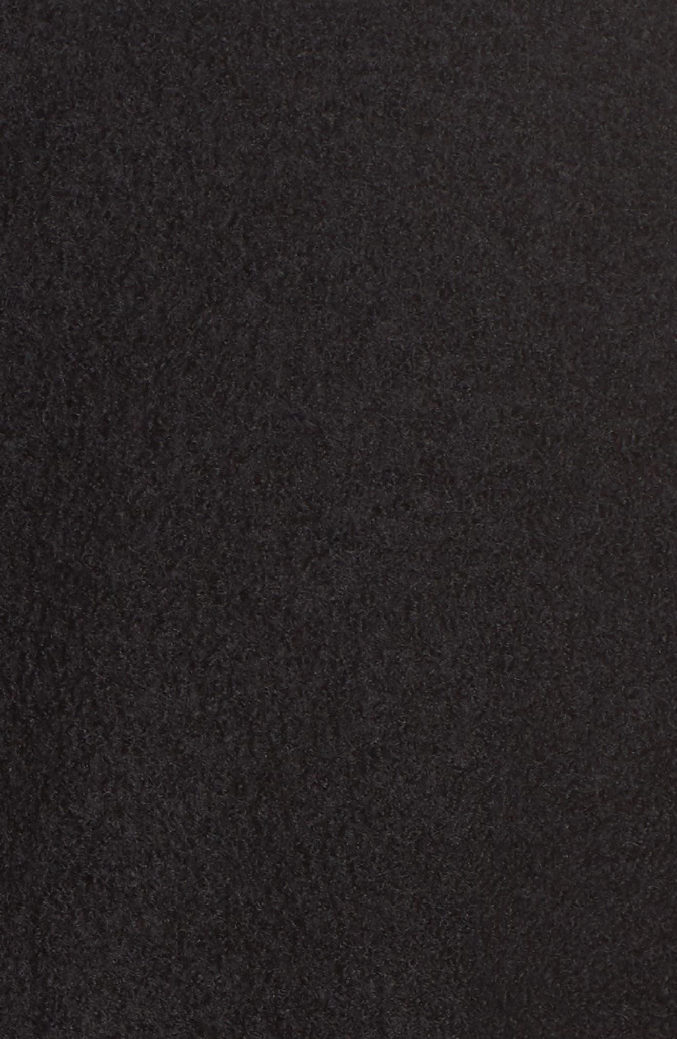 The Wool Bouclé Bomber Jacket,                             Alternate thumbnail 6, color,                             001