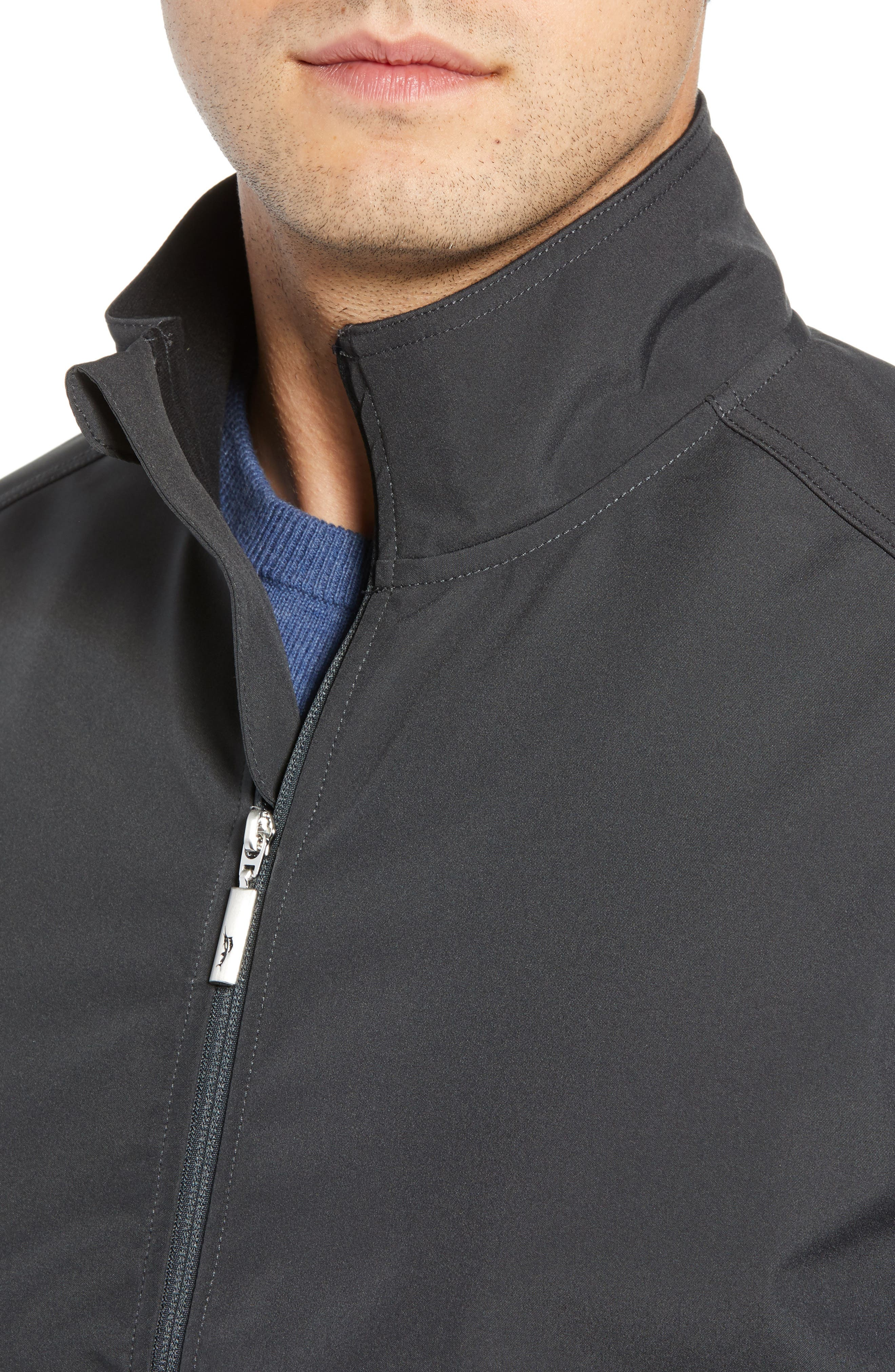 Ace Flier Zip Jacket,                             Alternate thumbnail 4, color,                             ASH GREY