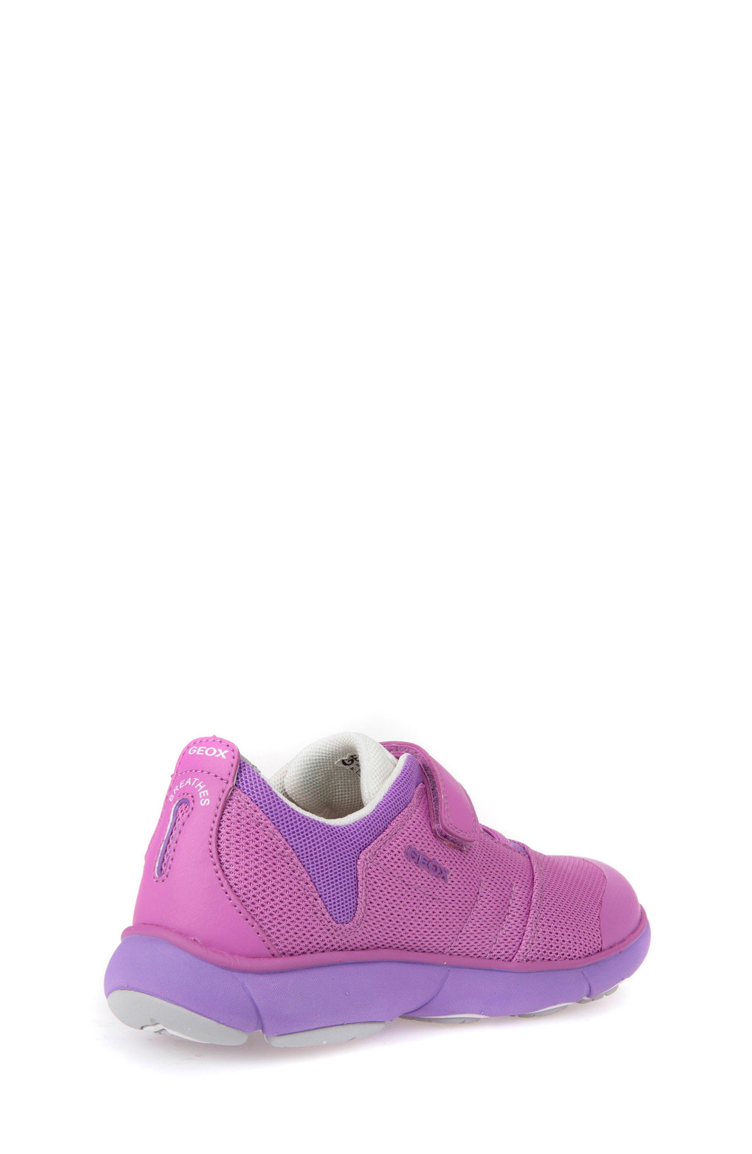 Jr Nebula Waterproof Sneaker,                             Alternate thumbnail 7, color,                             FUCHSIA