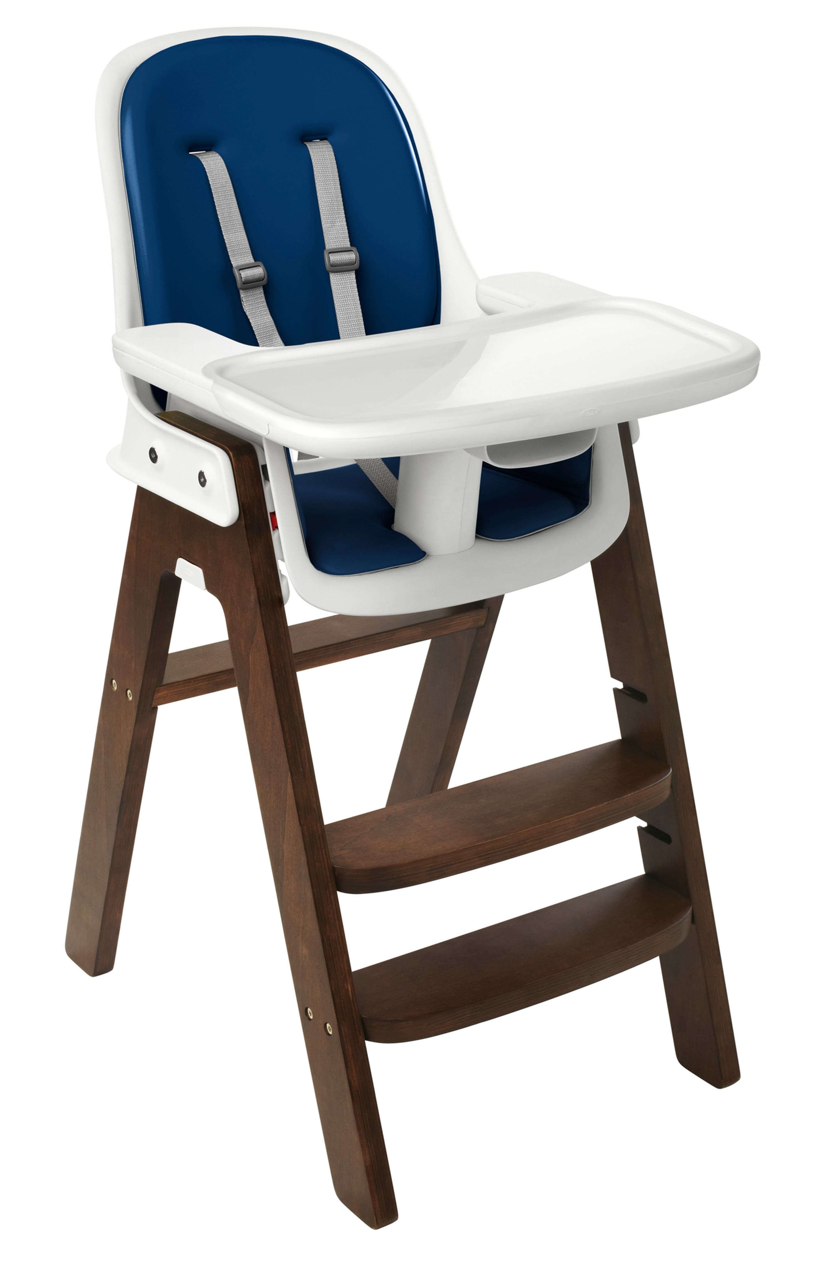'Sprout' Chair,                             Main thumbnail 1, color,                             NAVY/ WALNUT