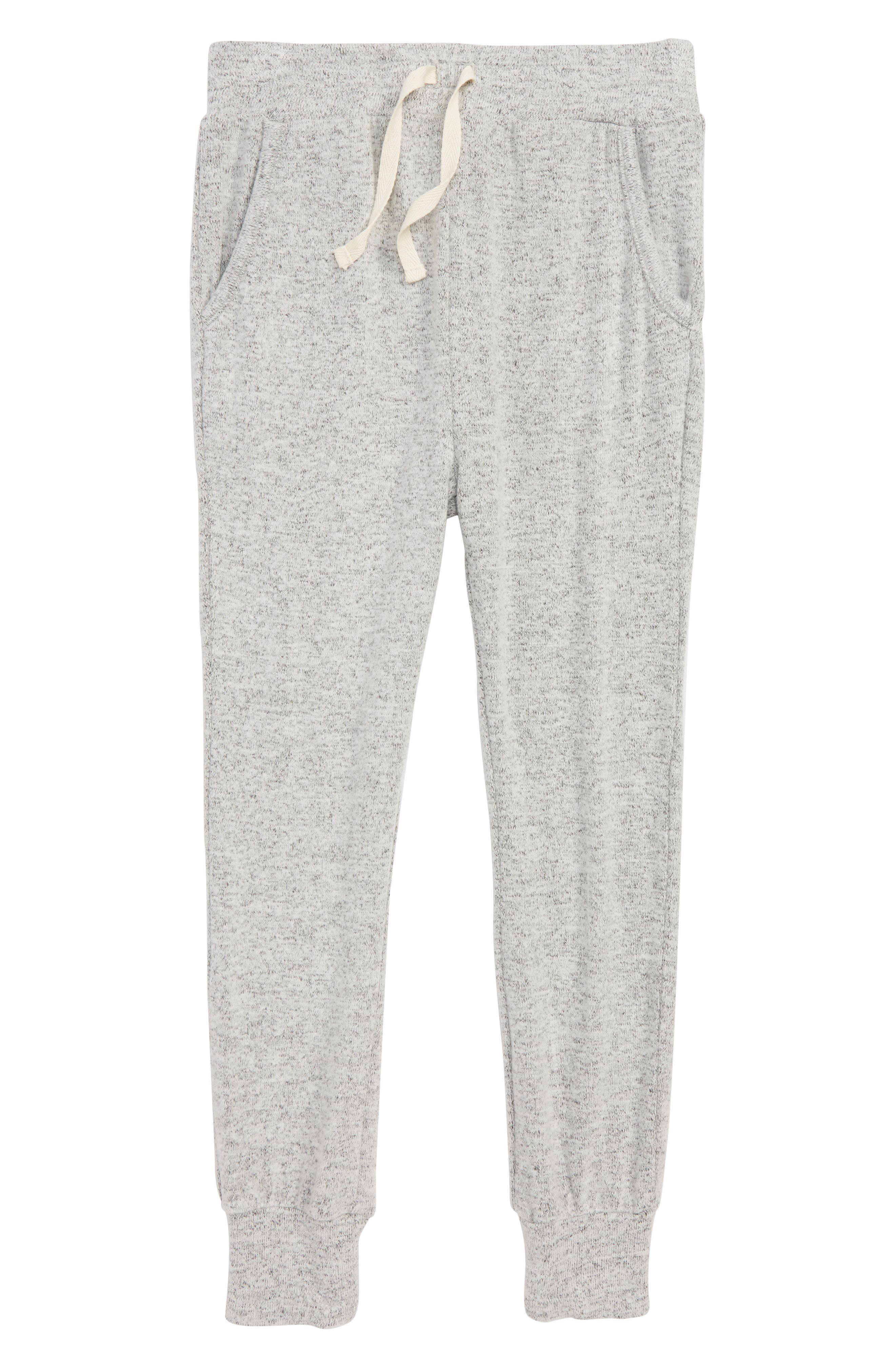 Cozy Jogger Pants,                             Main thumbnail 1, color,                             GREY ASH HEATHER