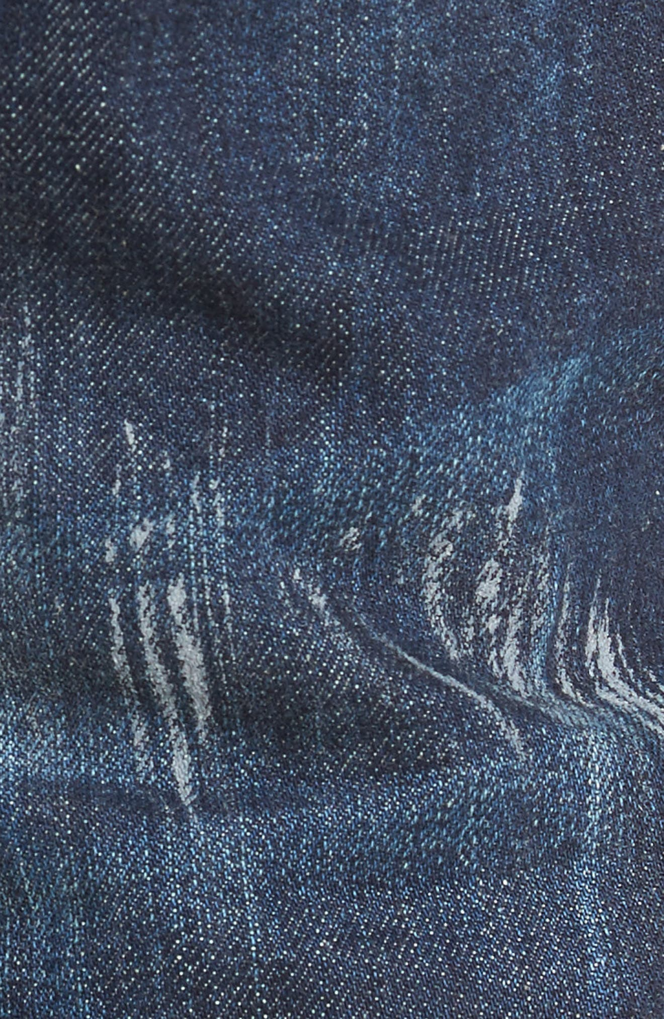 Slim Straight Leg Jeans,                             Alternate thumbnail 5, color,                             490