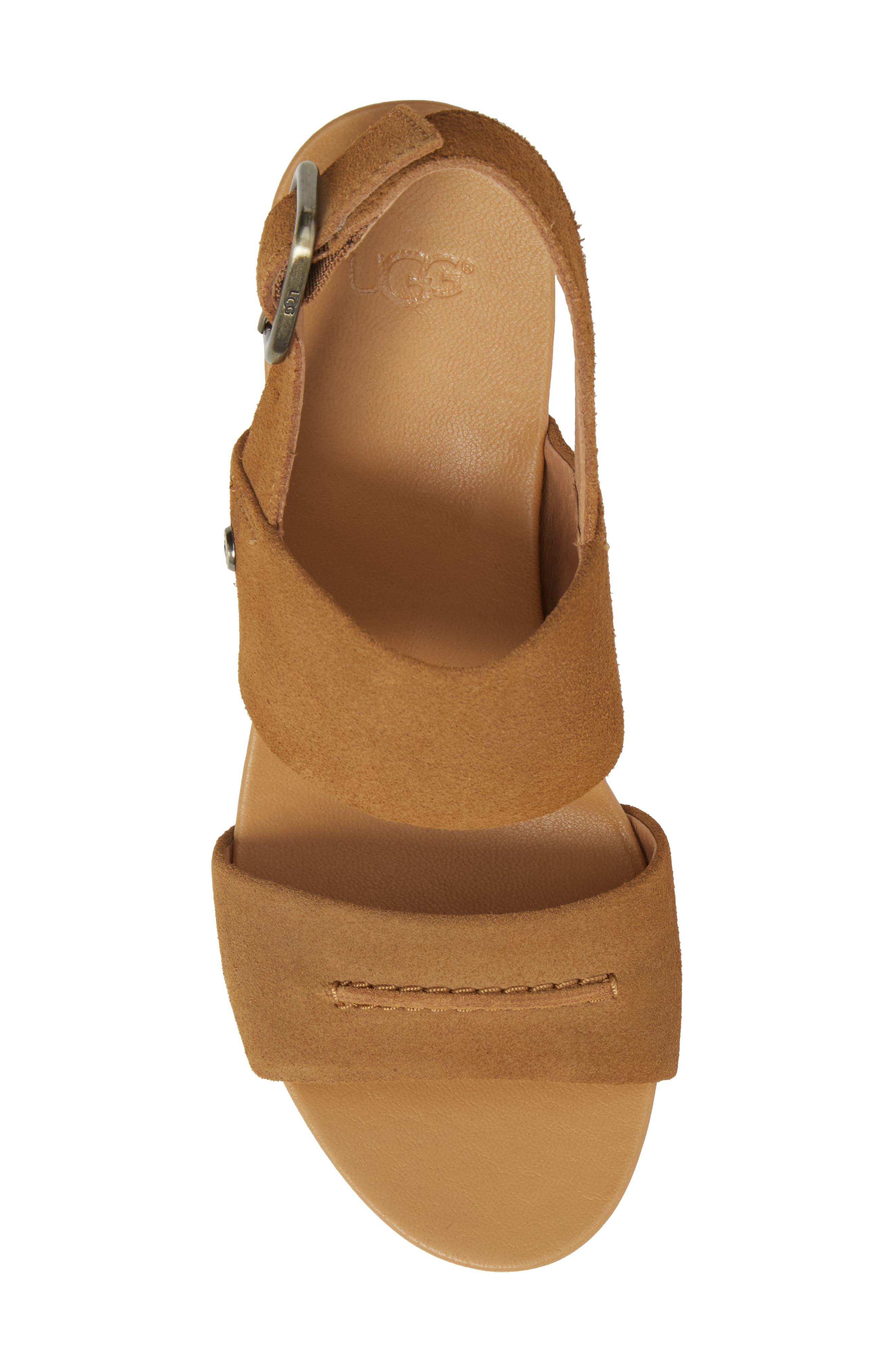 Elena II Platform Wedge Sandal,                             Alternate thumbnail 14, color,
