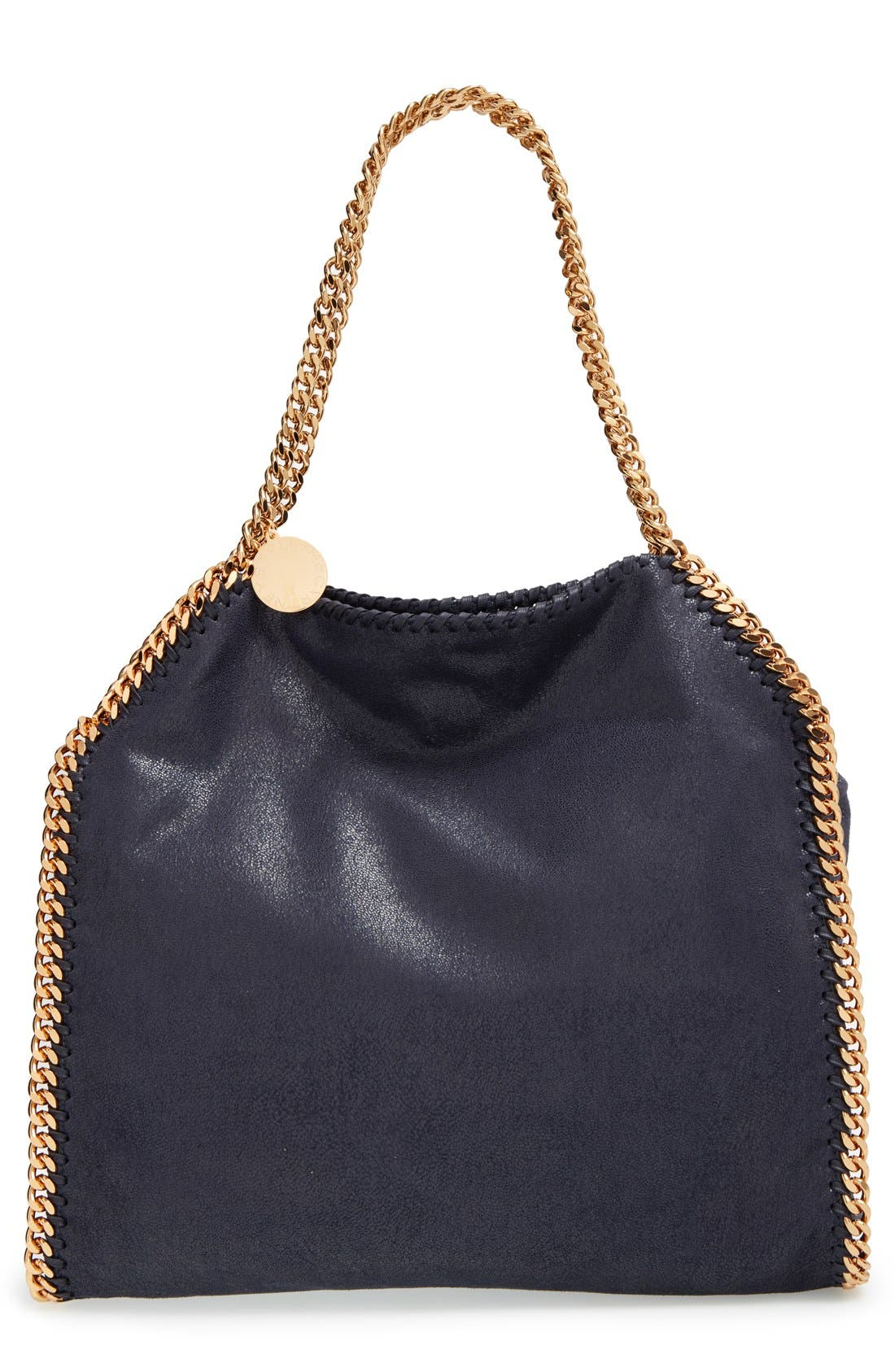 'Small Falabella - Shaggy Deer' Faux Leather Tote,                         Main,                         color, 400