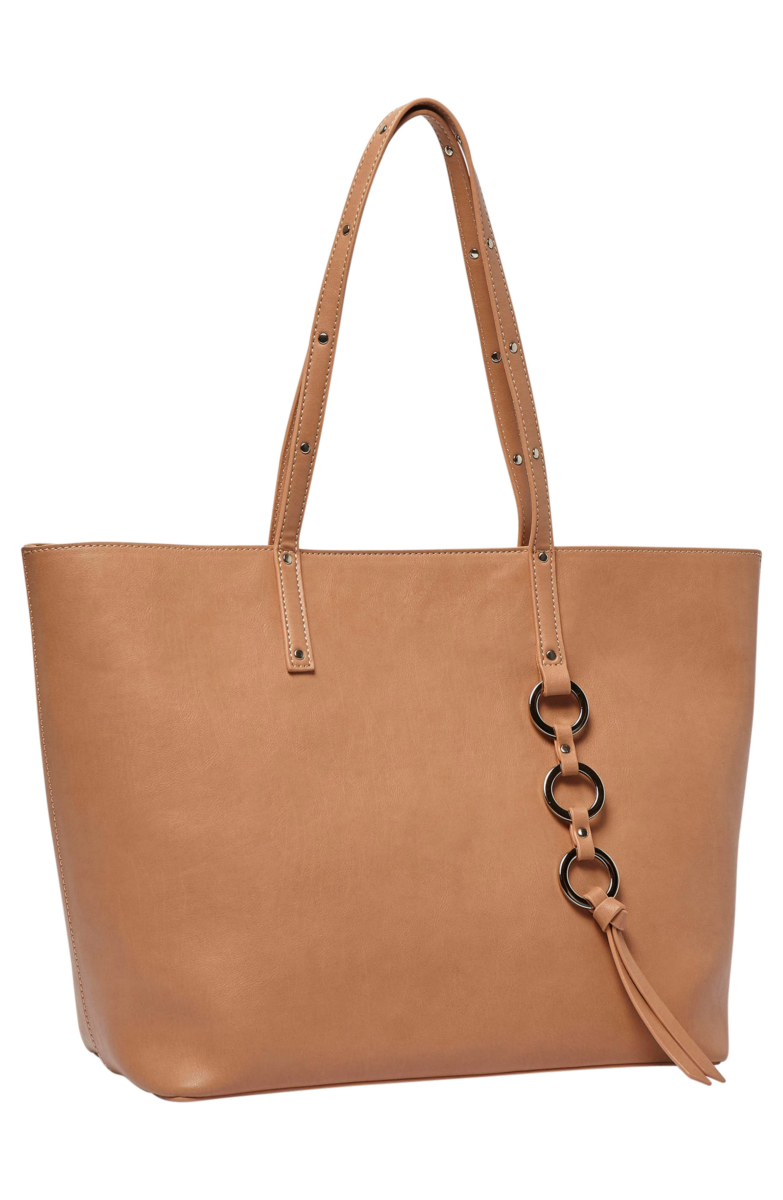 Wild Fire Vegan Leather Tote,                             Alternate thumbnail 11, color,