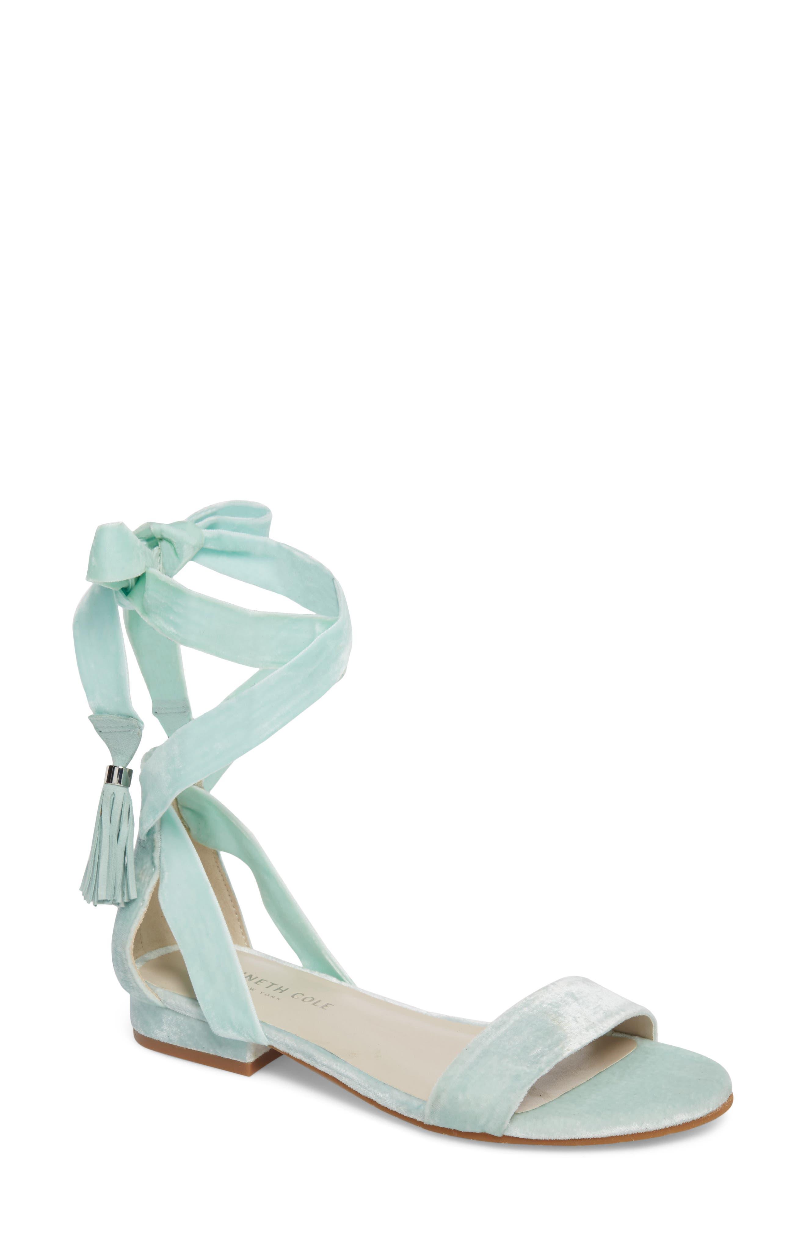 Valen Tassel Lace-Up Sandal,                             Main thumbnail 8, color,