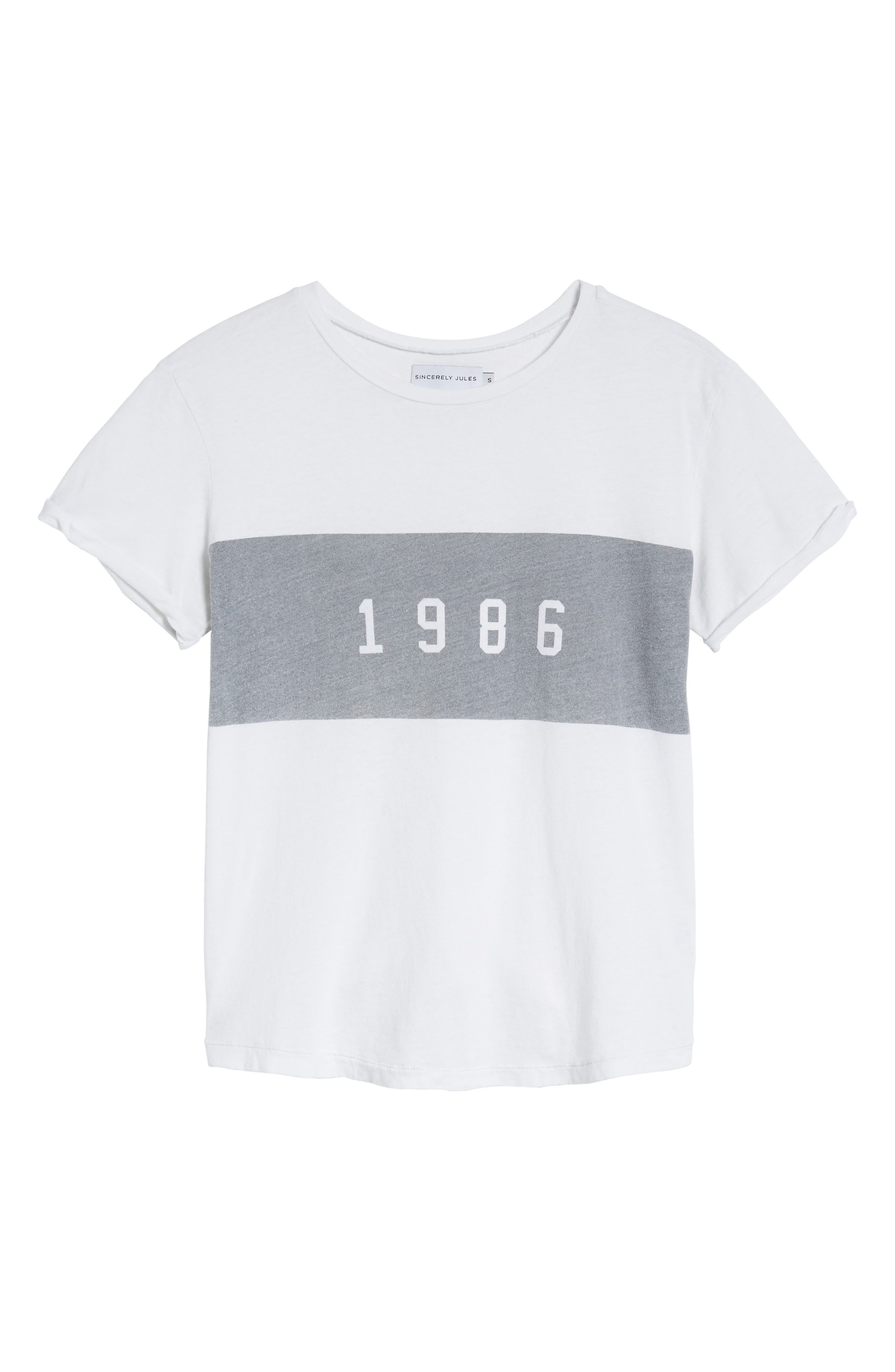 1986 Tee,                             Alternate thumbnail 6, color,                             100