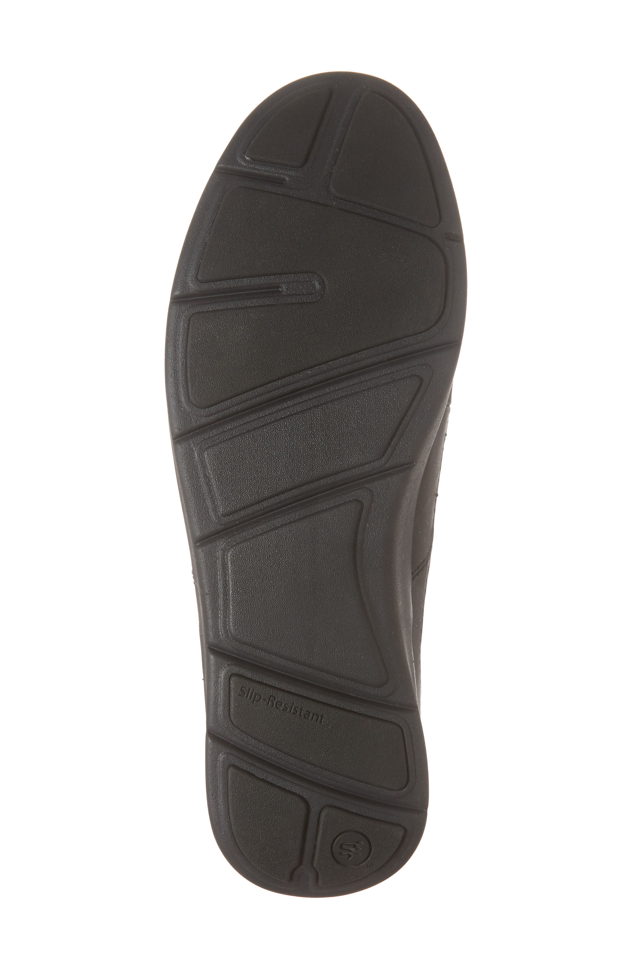 Worldwide Ross Waterproof Sneaker,                             Alternate thumbnail 6, color,                             BLACK