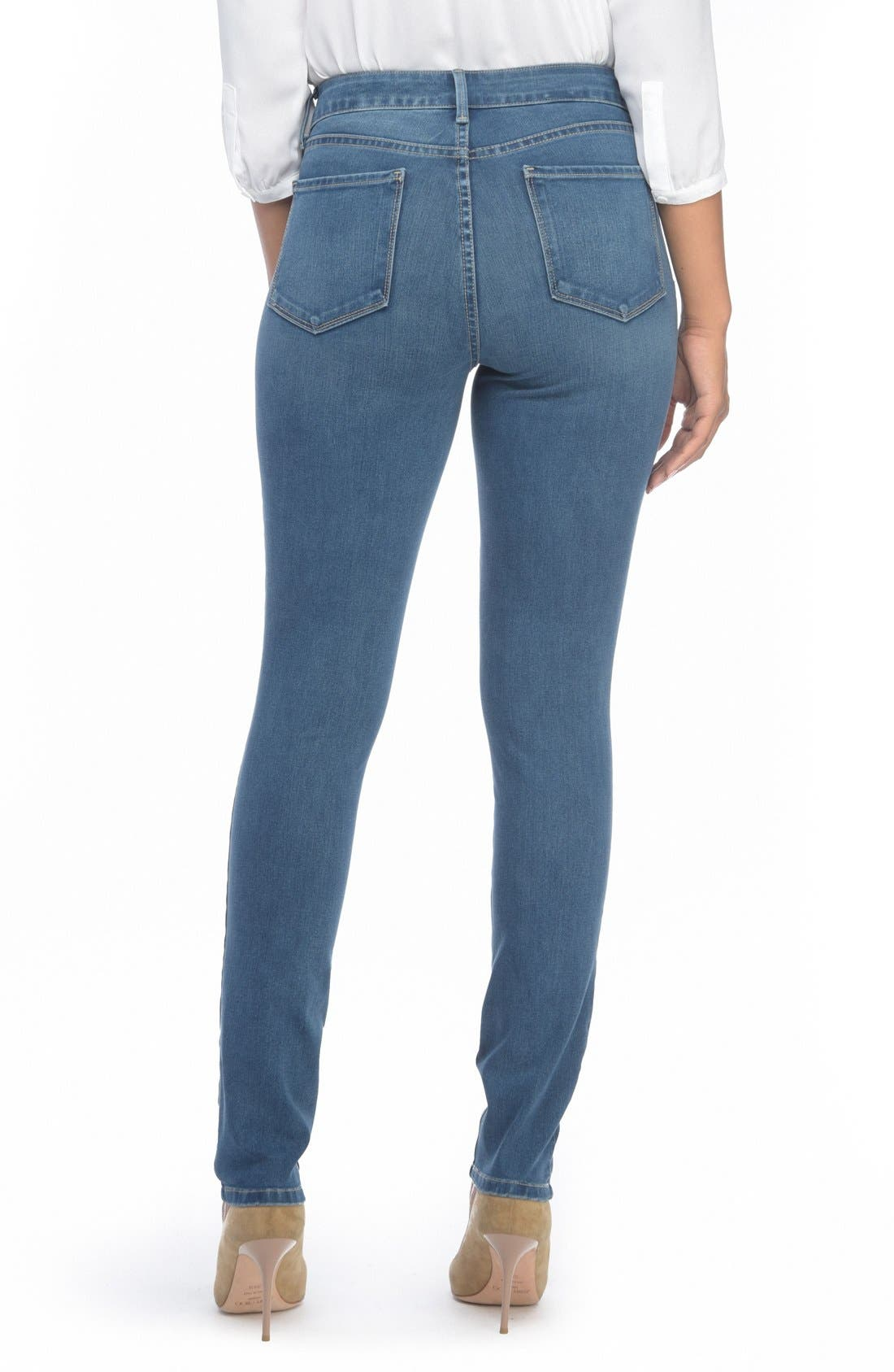 Alina Colored Stretch Skinny Jeans,                             Alternate thumbnail 148, color,