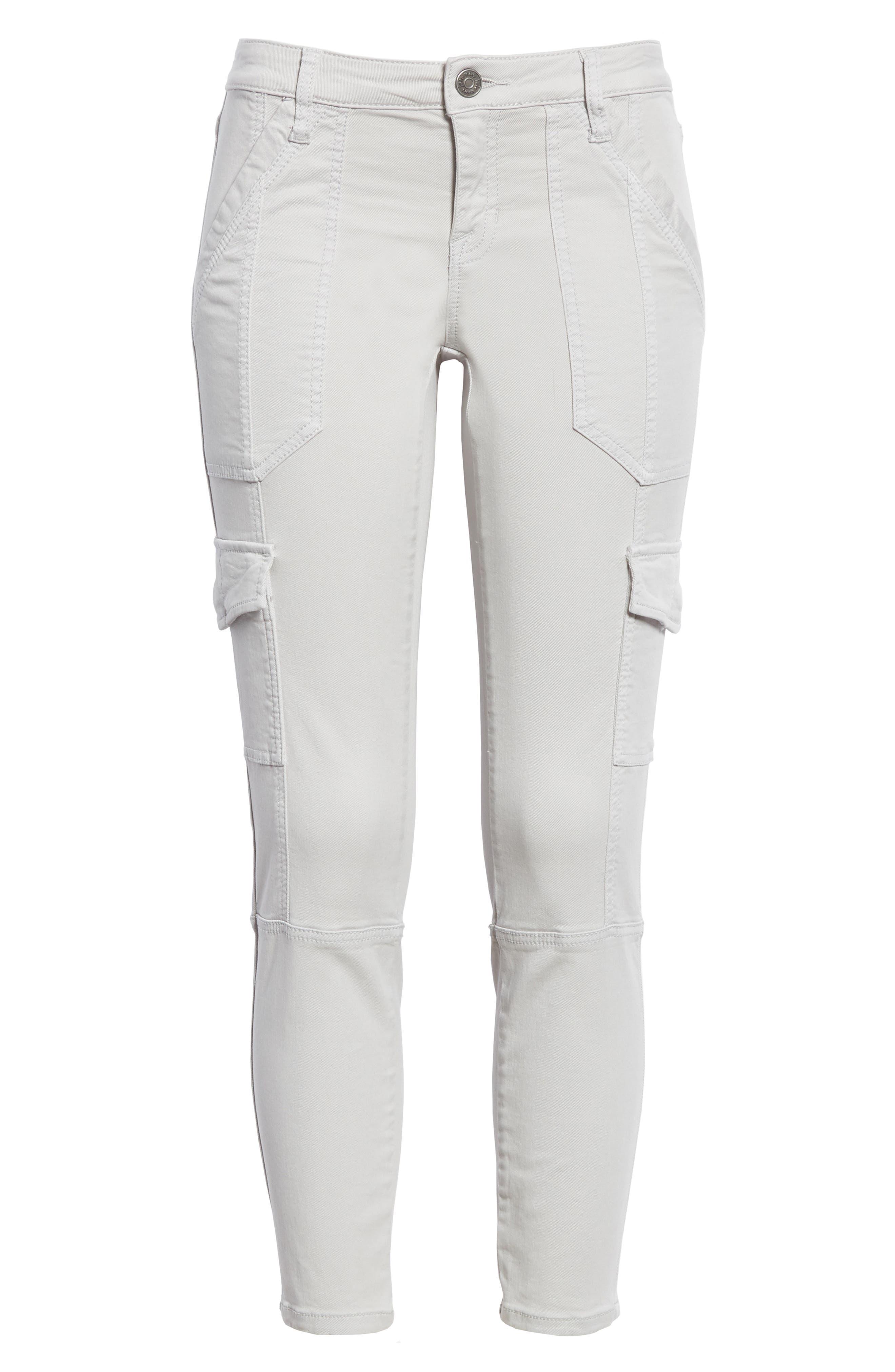 Okana Skinny Cargo Pants,                             Alternate thumbnail 6, color,                             034