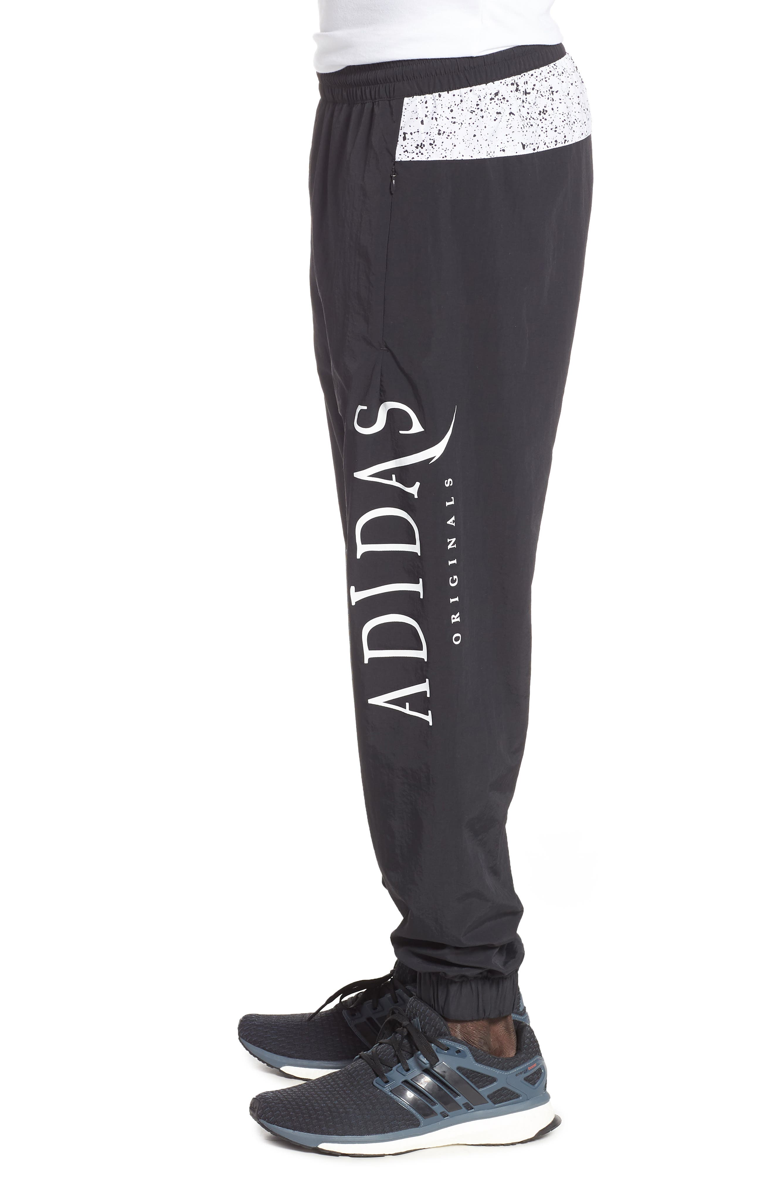 adidas Planetoid Track Pants,                             Alternate thumbnail 3, color,                             001