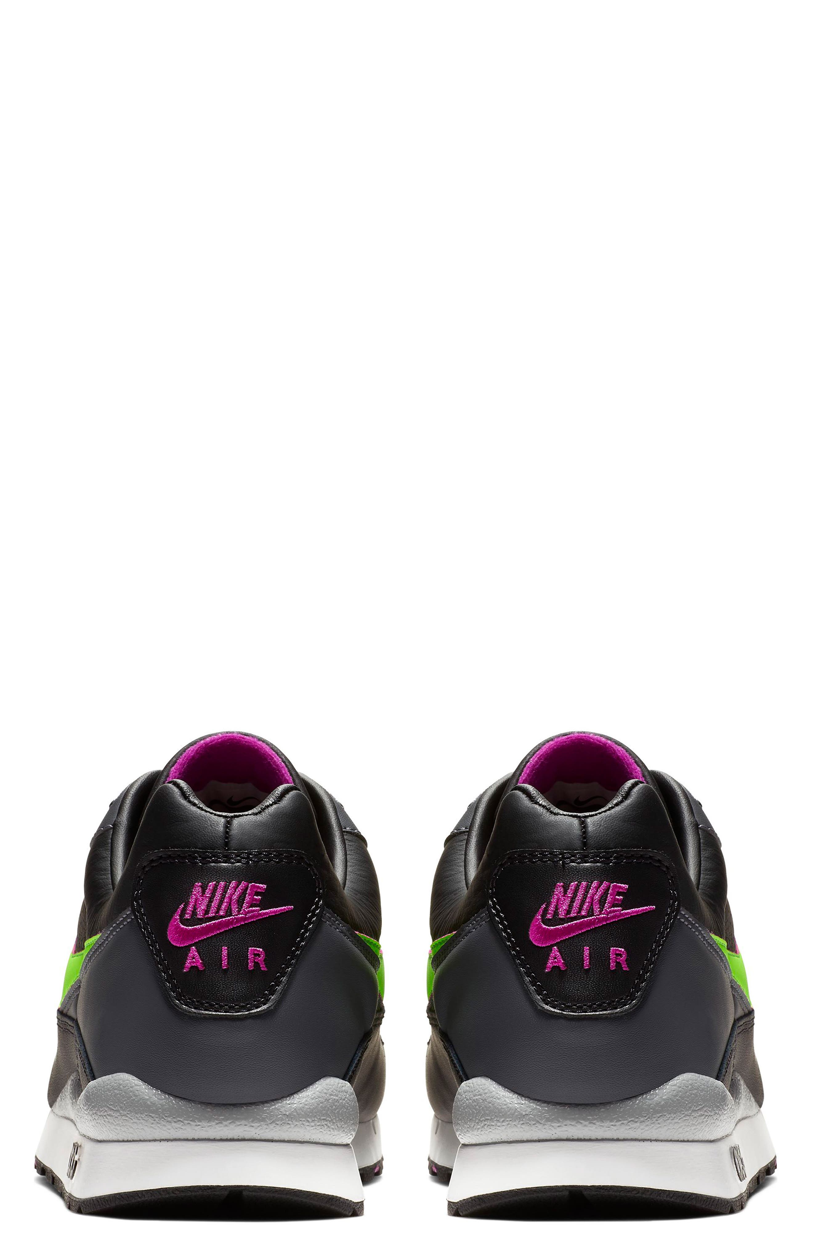NIKE,                             Air Wildwood ACG Sneaker,                             Alternate thumbnail 2, color,                             BLACK/ ELECTRIC GREEN/ VIOLET