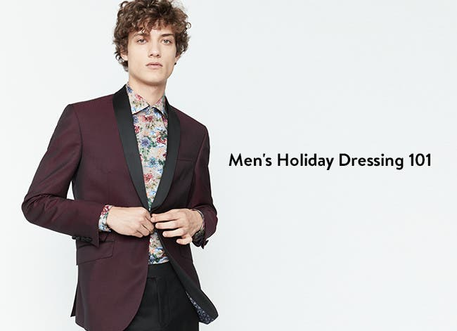 Holiday dressing 101.