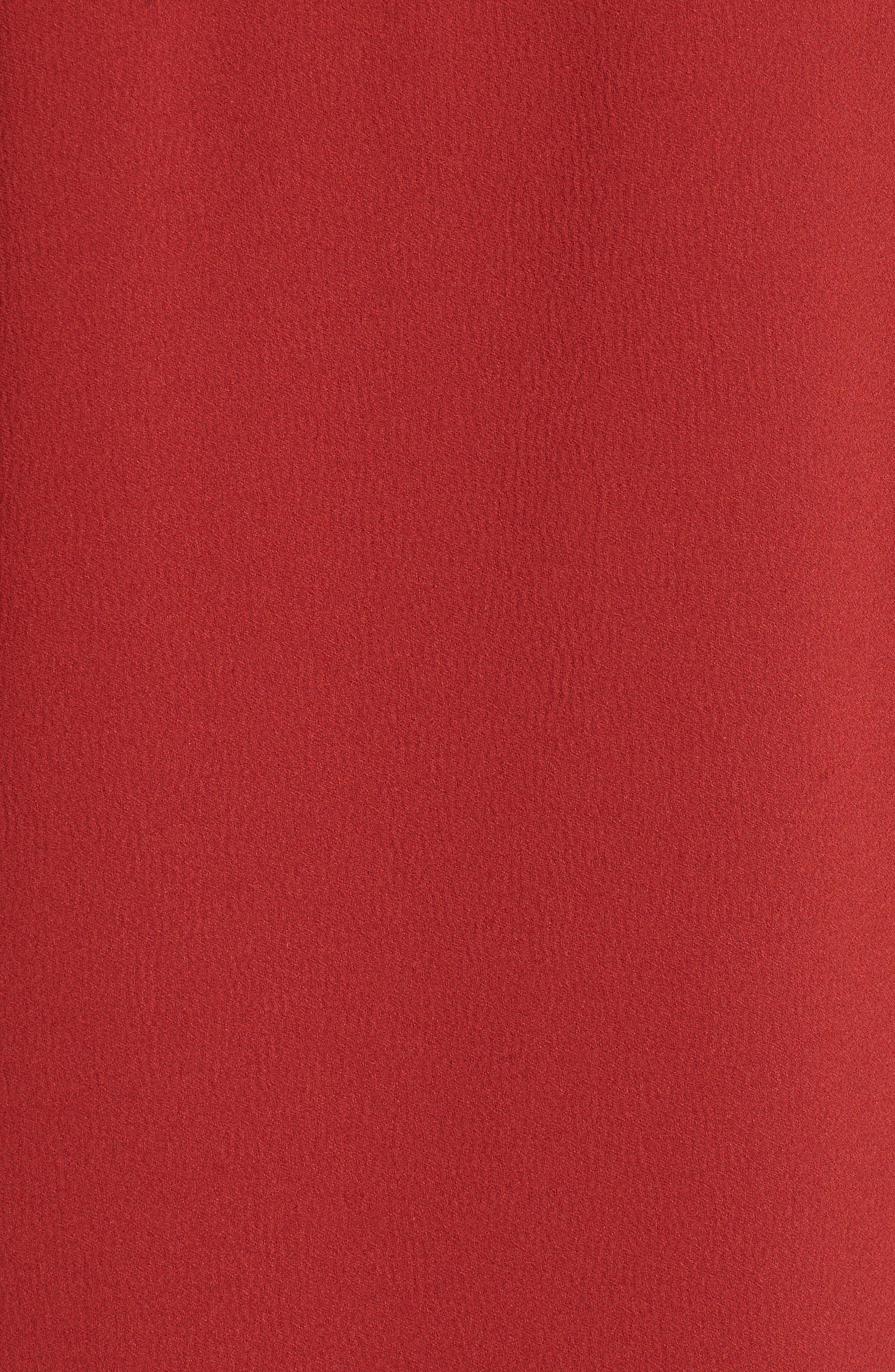 Crepe Asymmetrical Dress,                             Alternate thumbnail 5, color,