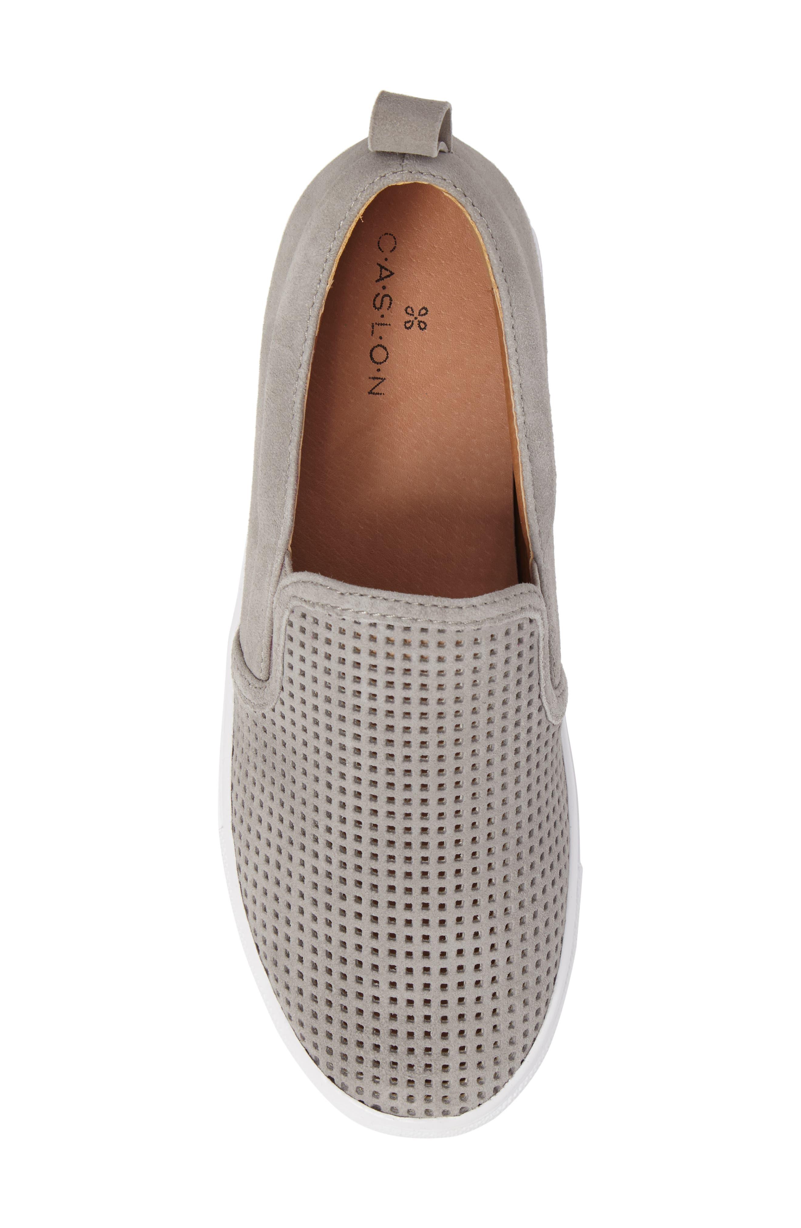 Eden Perforated Slip-On Sneaker,                             Alternate thumbnail 18, color,