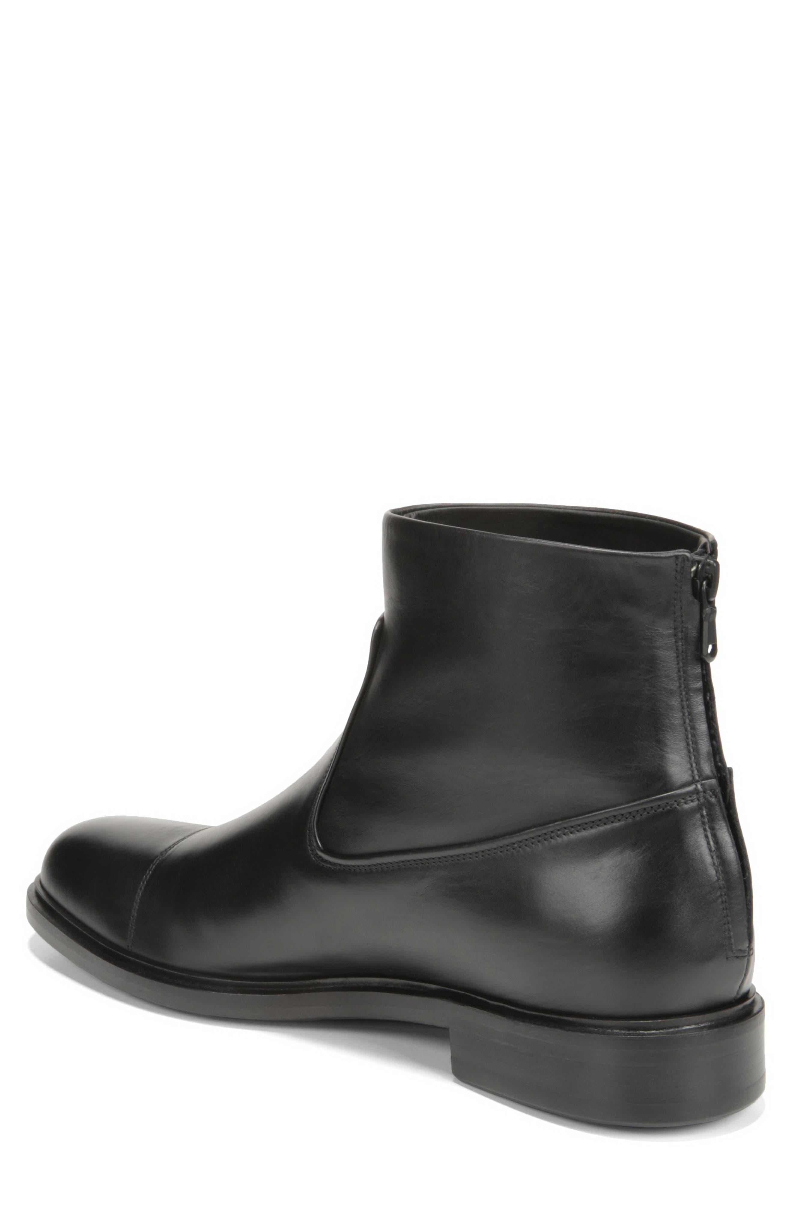 Beckett Zip Boot,                             Alternate thumbnail 2, color,                             BLACK